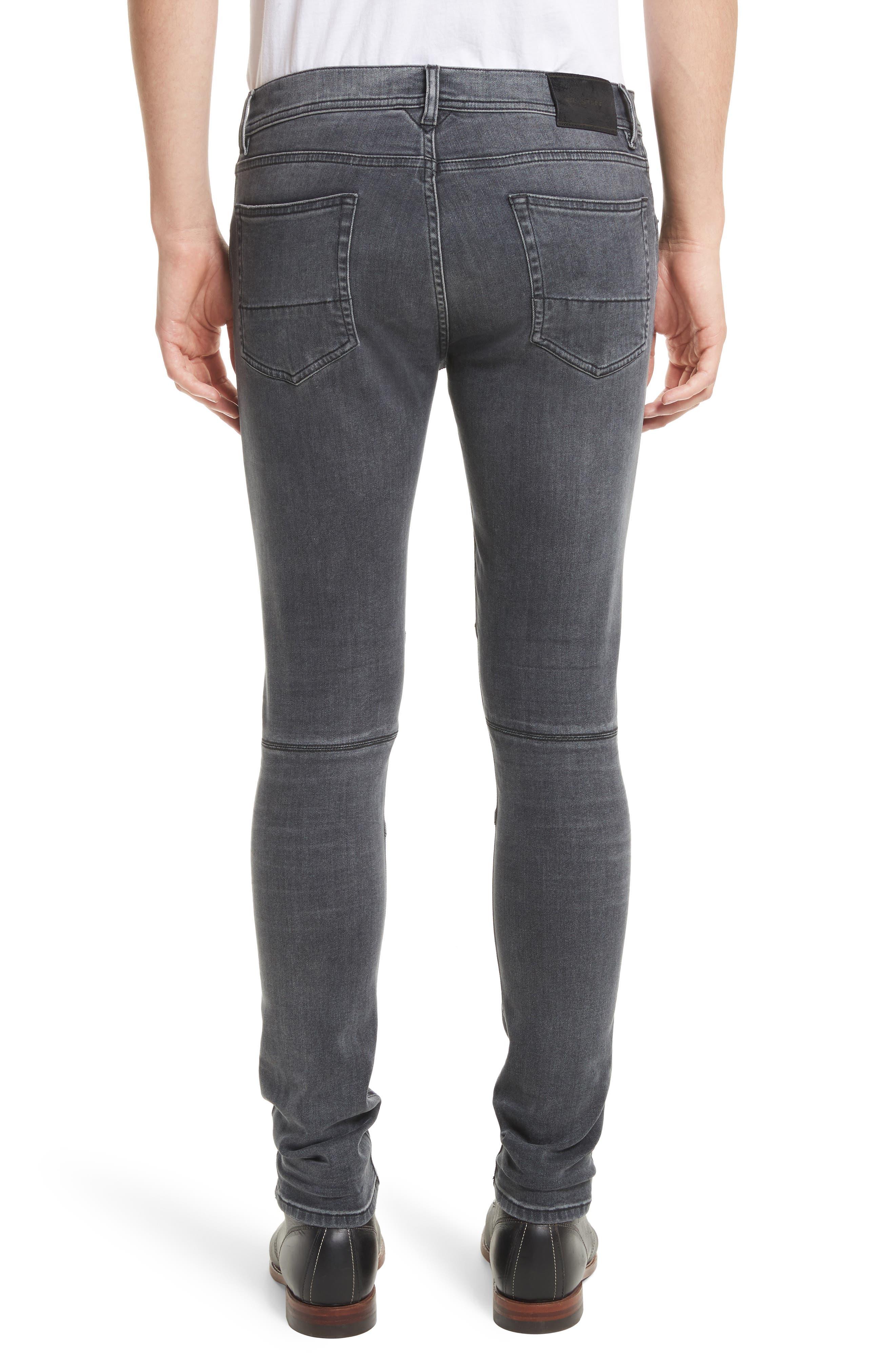 Tattenhall Washed Denim Skinny Jeans,                             Alternate thumbnail 2, color,                             022