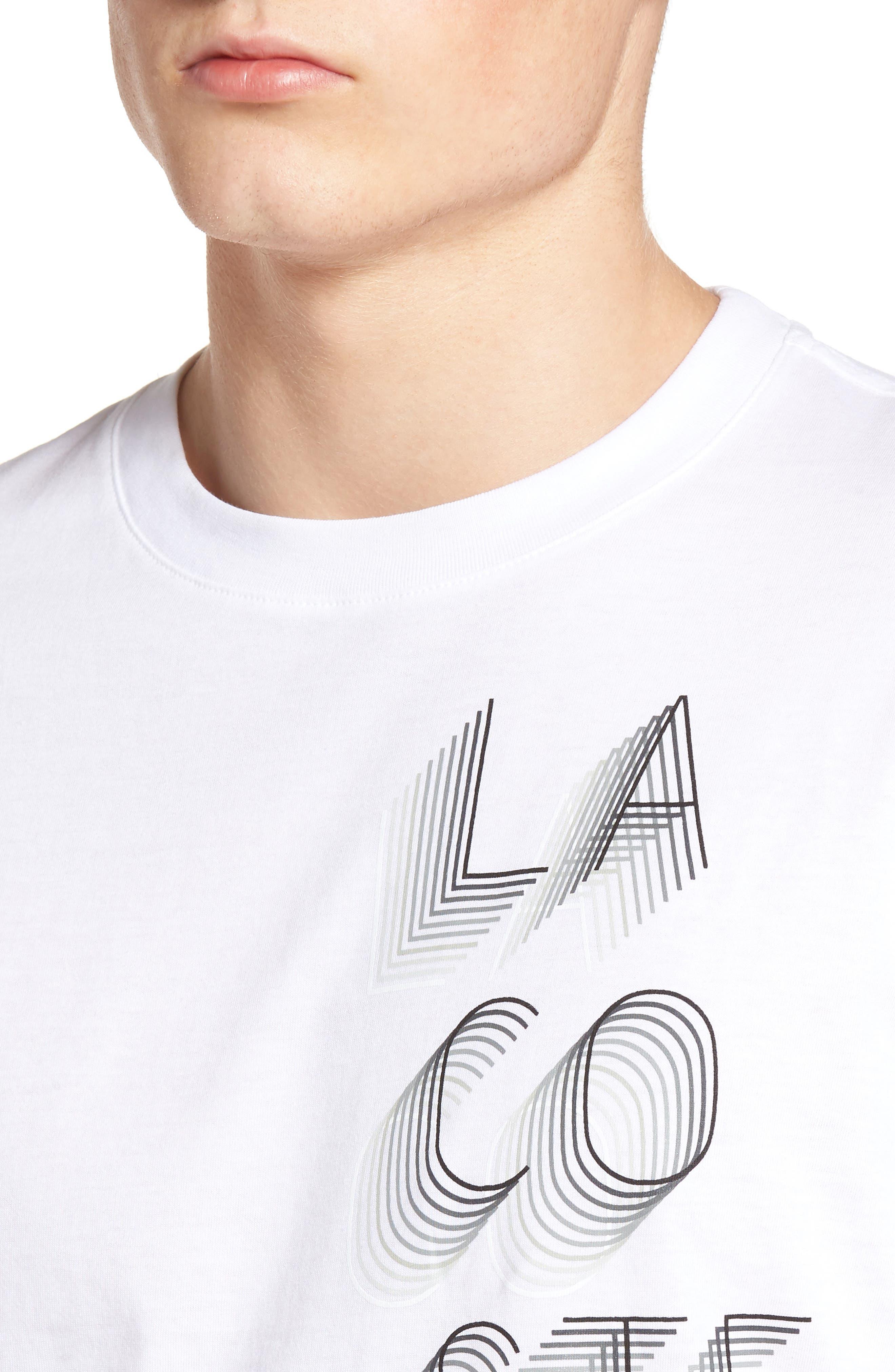 3D Print Logo Graphic T-Shirt,                             Alternate thumbnail 21, color,