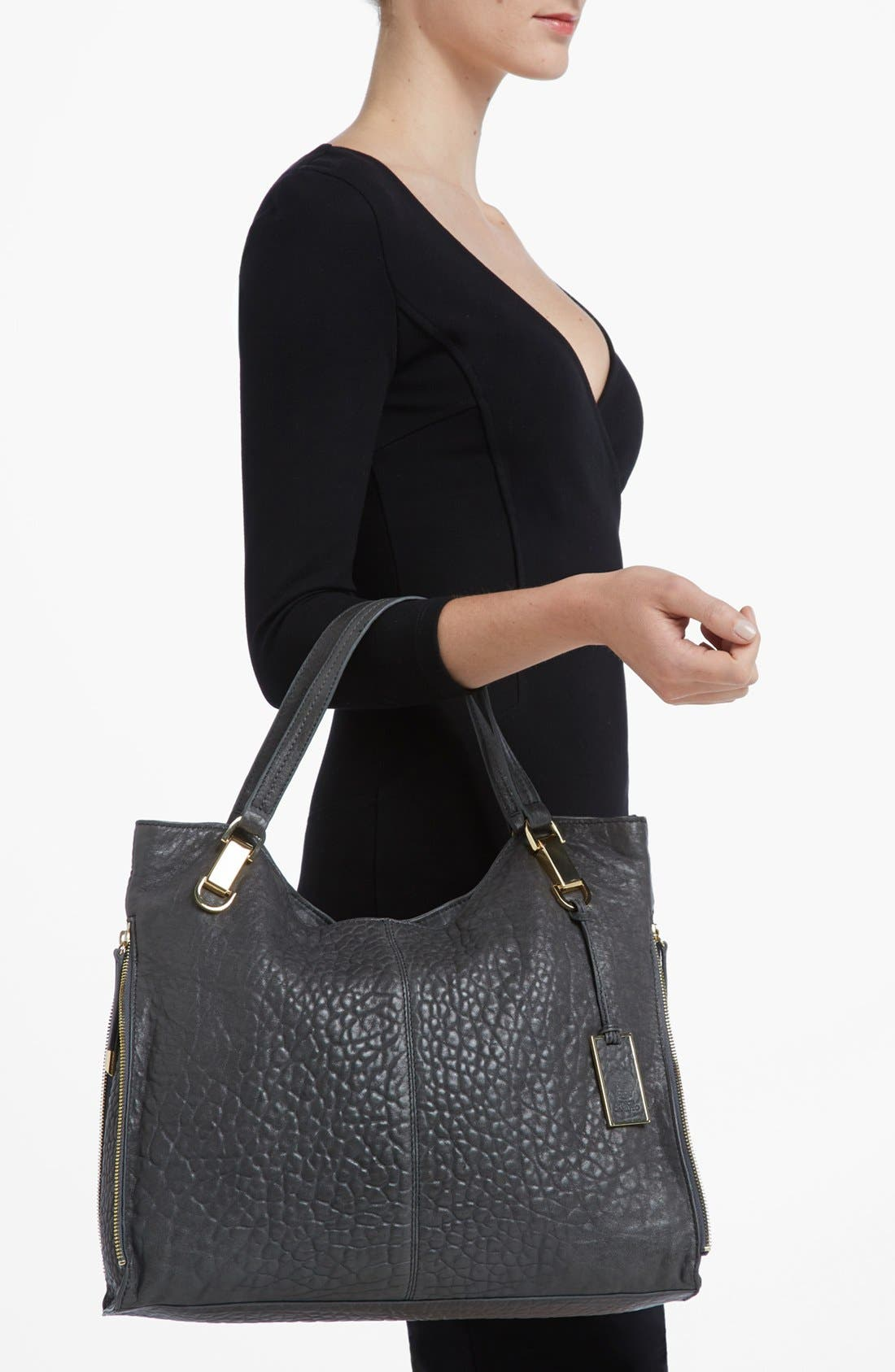 'Riley' Leather Tote,                             Alternate thumbnail 63, color,