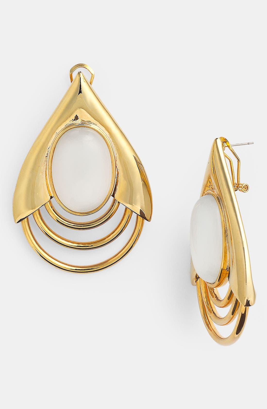 BELLE NOEL Teardrop Earrings, Main, color, 710