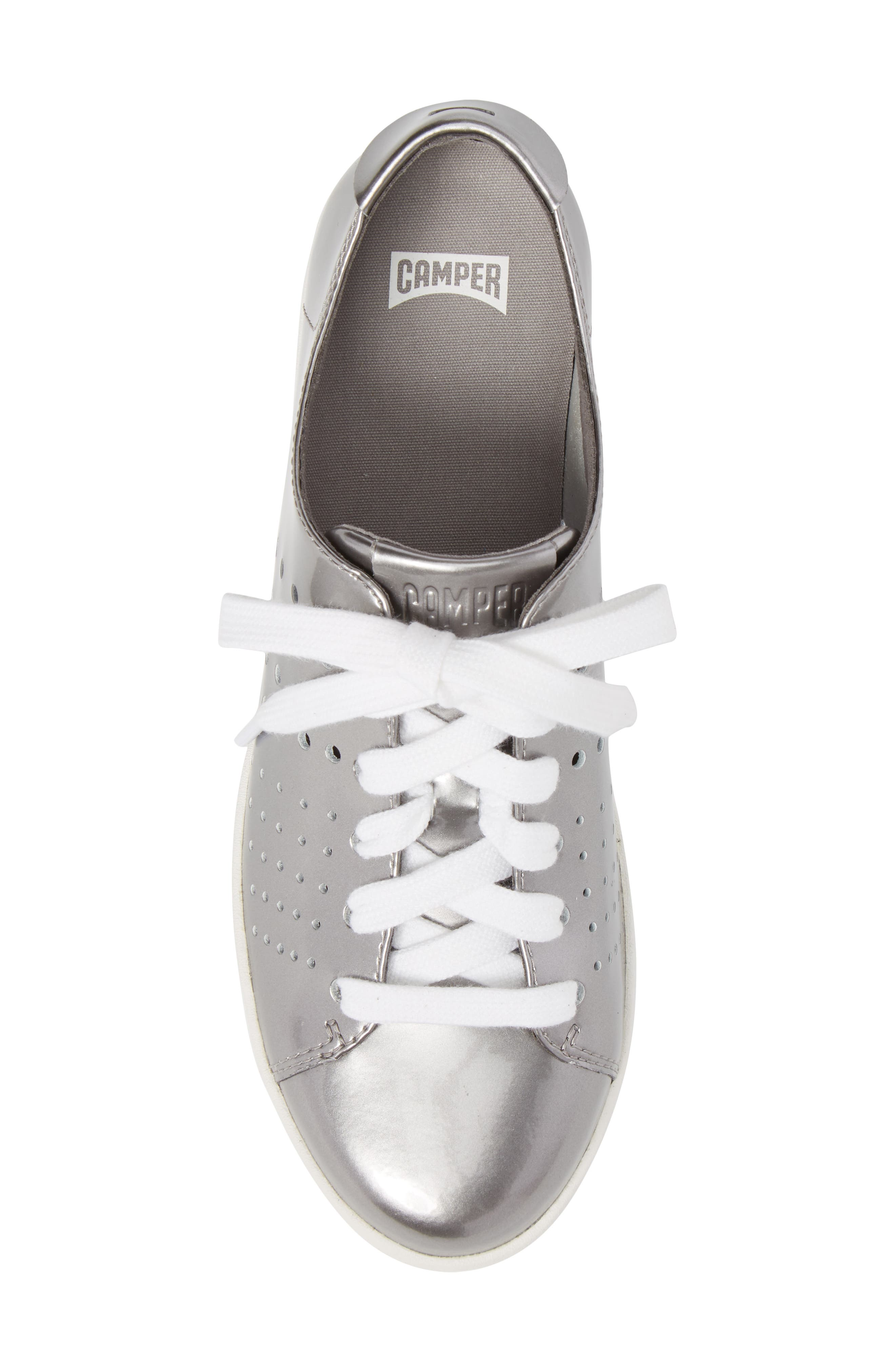 Twins Perforated Low Top Sneaker,                             Alternate thumbnail 5, color,