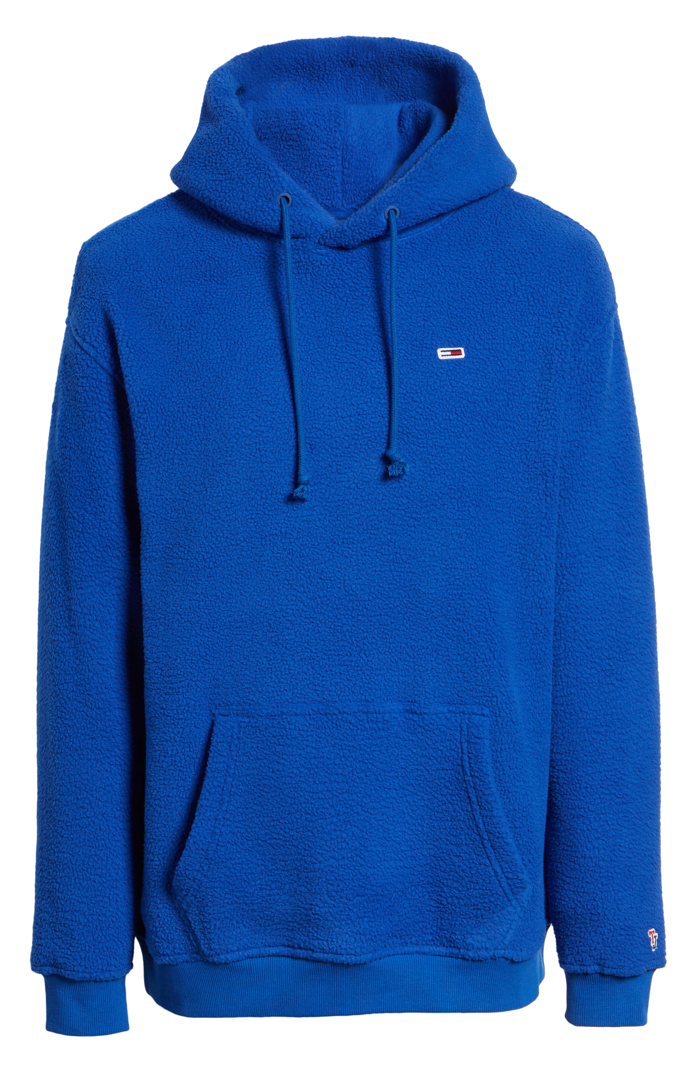 TJM Tommy Classics Polar Hoodie,                             Alternate thumbnail 6, color,                             SURF THE WEB