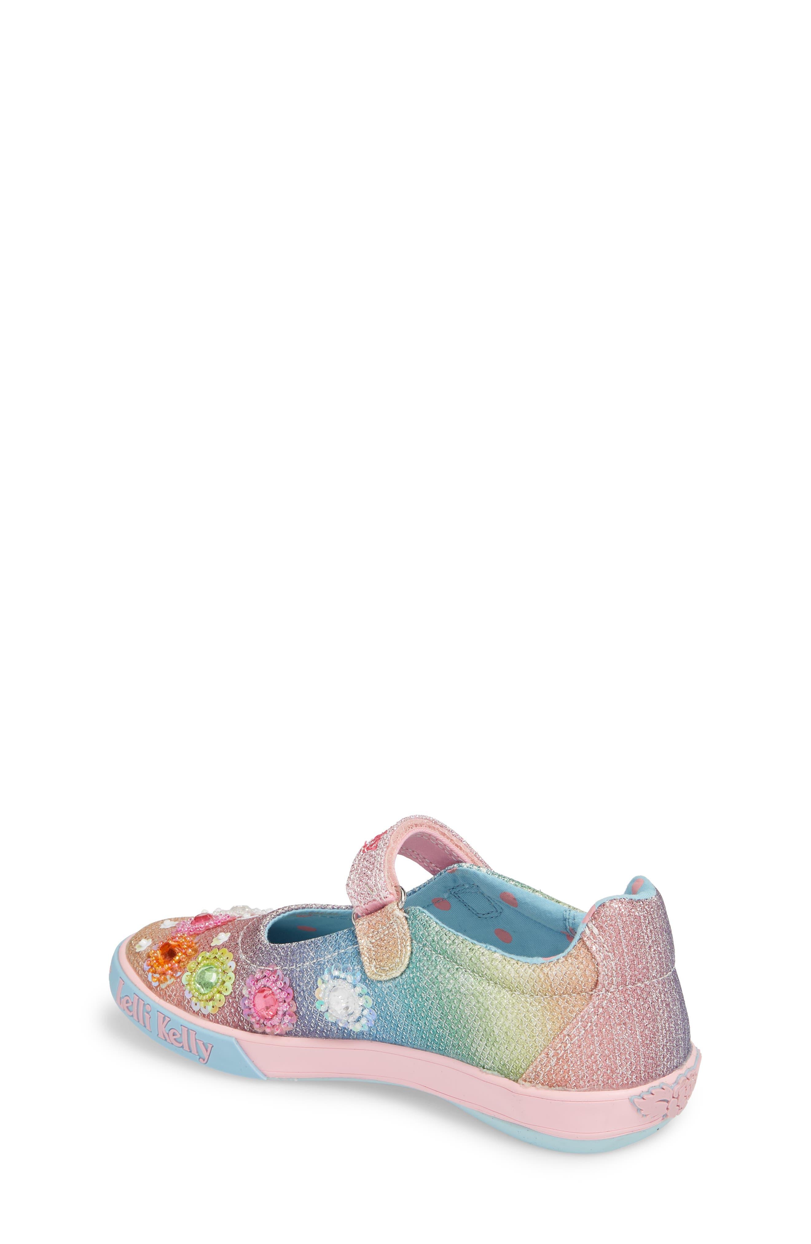 LELLI KELLY,                             Beaded Mary Jane Sneaker,                             Alternate thumbnail 2, color,                             BLUE