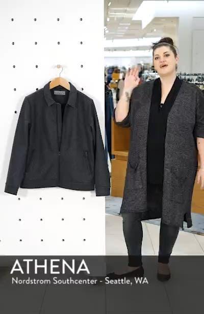 Suede Regular Fit Work Coat, sales video thumbnail