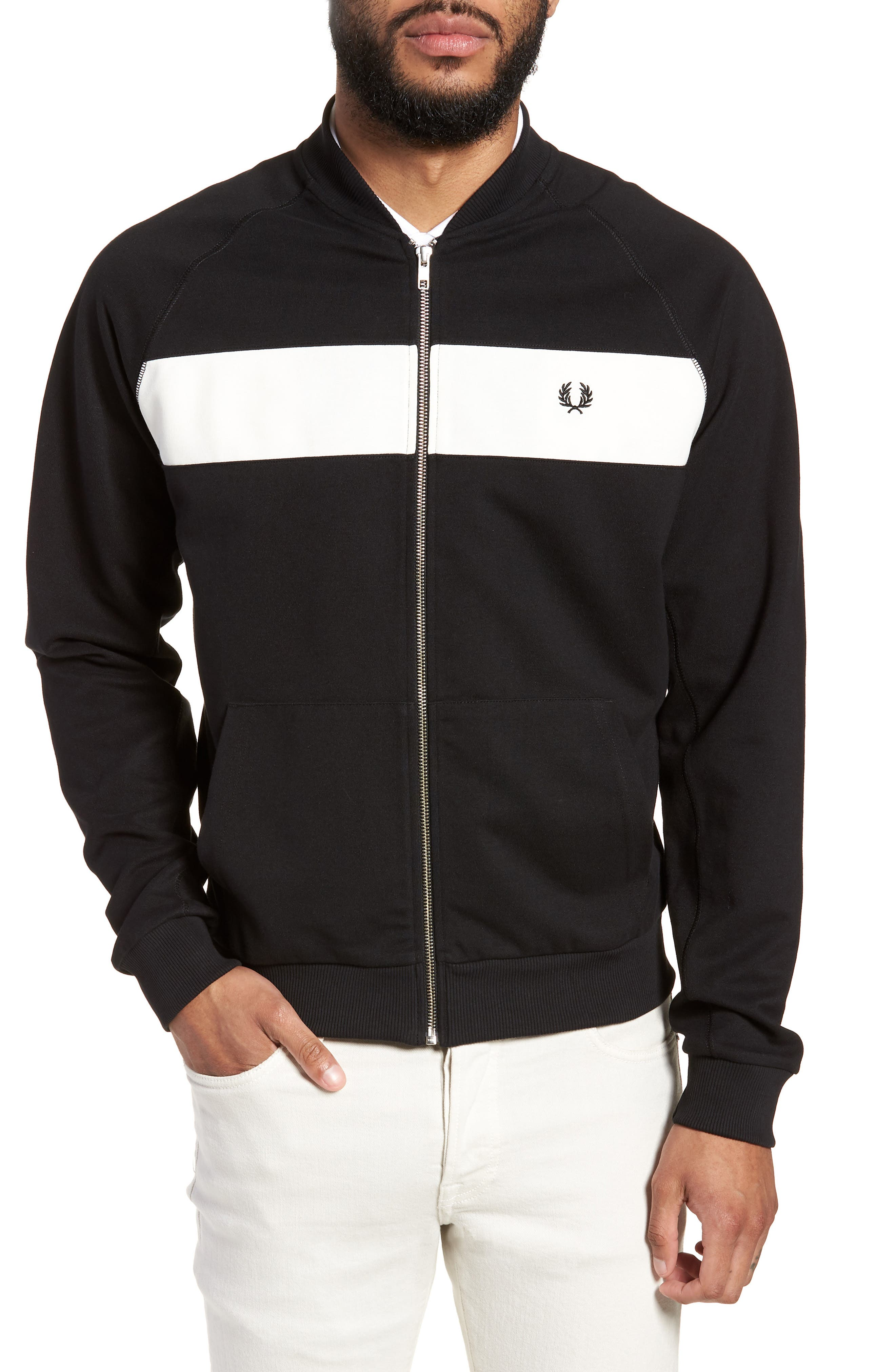 Reverse Tricot Track Jacket, Main, color, 001