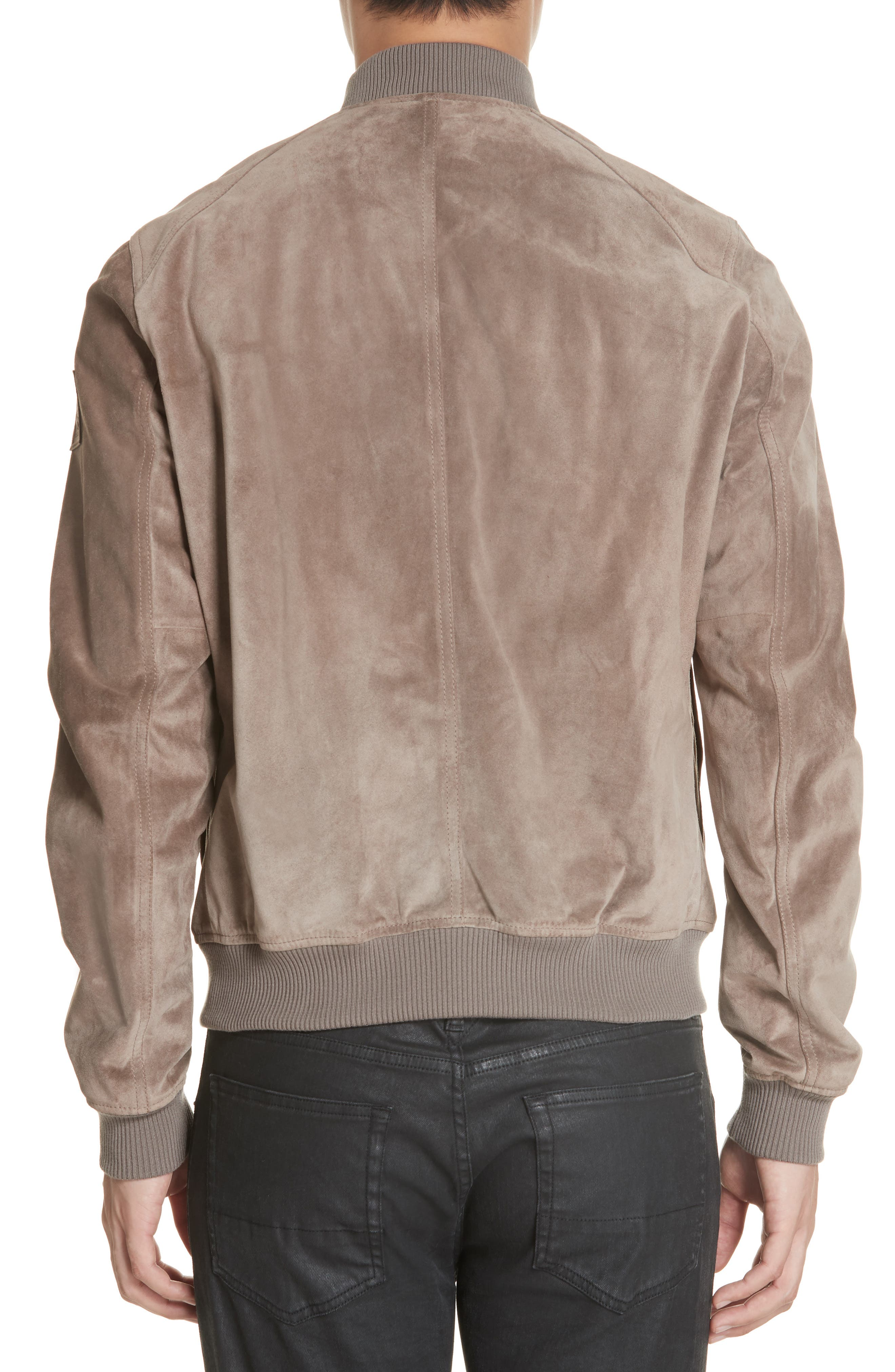 Winswell Suede Jacket,                             Alternate thumbnail 2, color,                             DRIFTWOOD