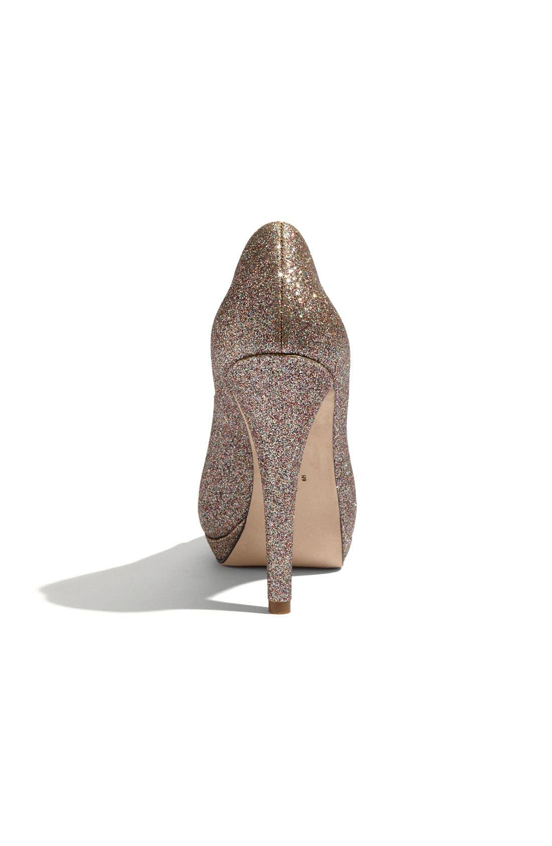 Footwear 'Selima' Peep Toe Pump,                             Alternate thumbnail 17, color,