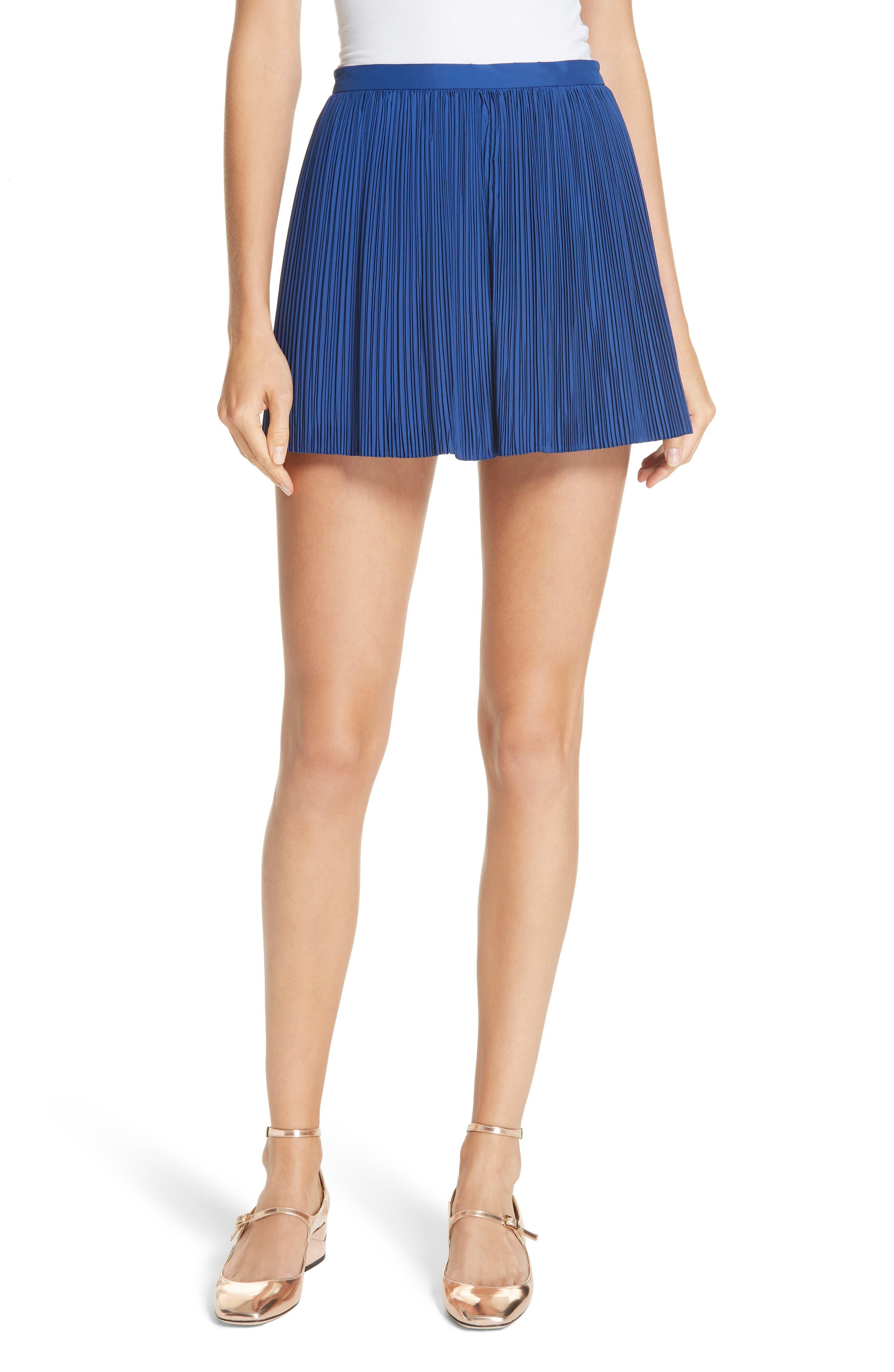Plissé Shorts,                         Main,                         color, 400