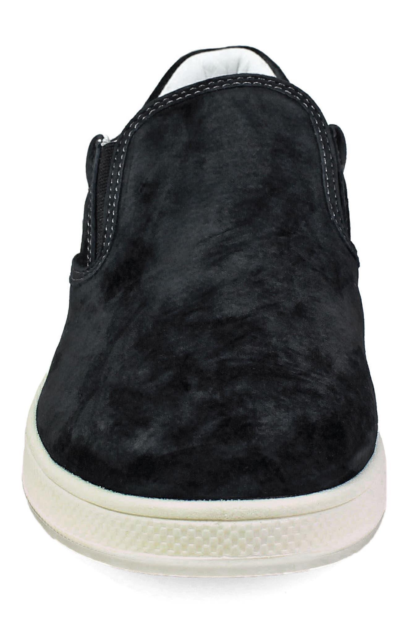 FLORSHEIM,                             Edge Slip-On Sneaker,                             Alternate thumbnail 4, color,                             001