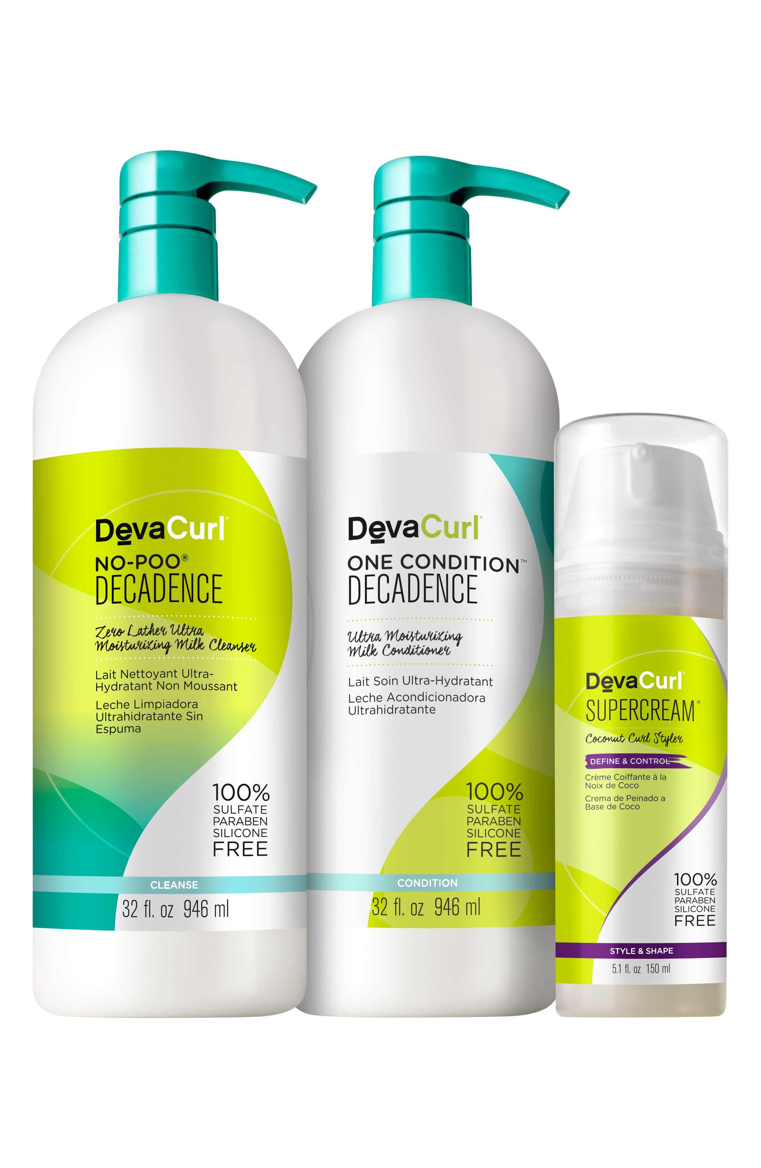 Devacurl BIGGER BETTER BASICS FOR SUPER CURLY HAIR SET