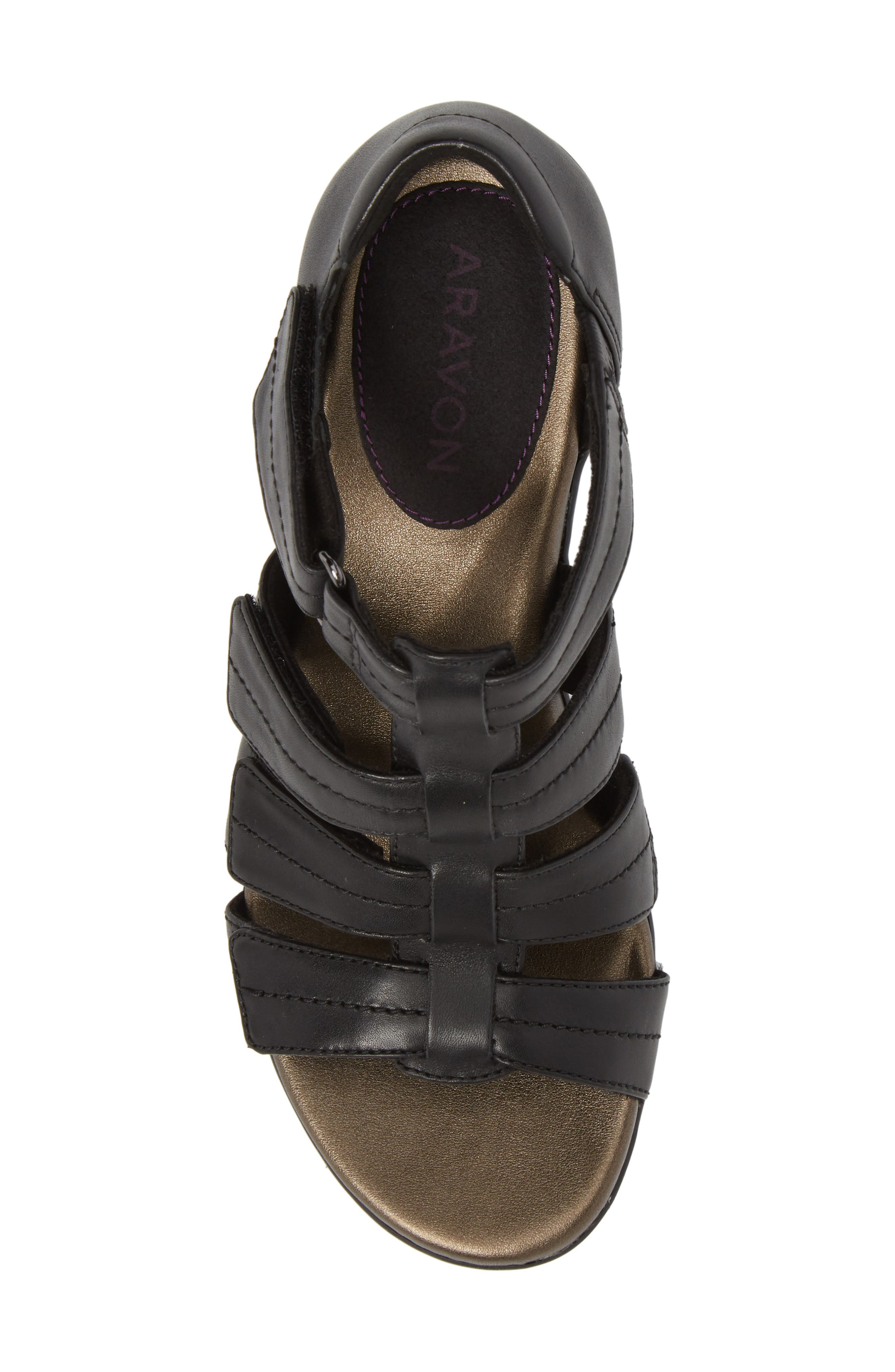 Medici II Sandal,                             Alternate thumbnail 5, color,                             001