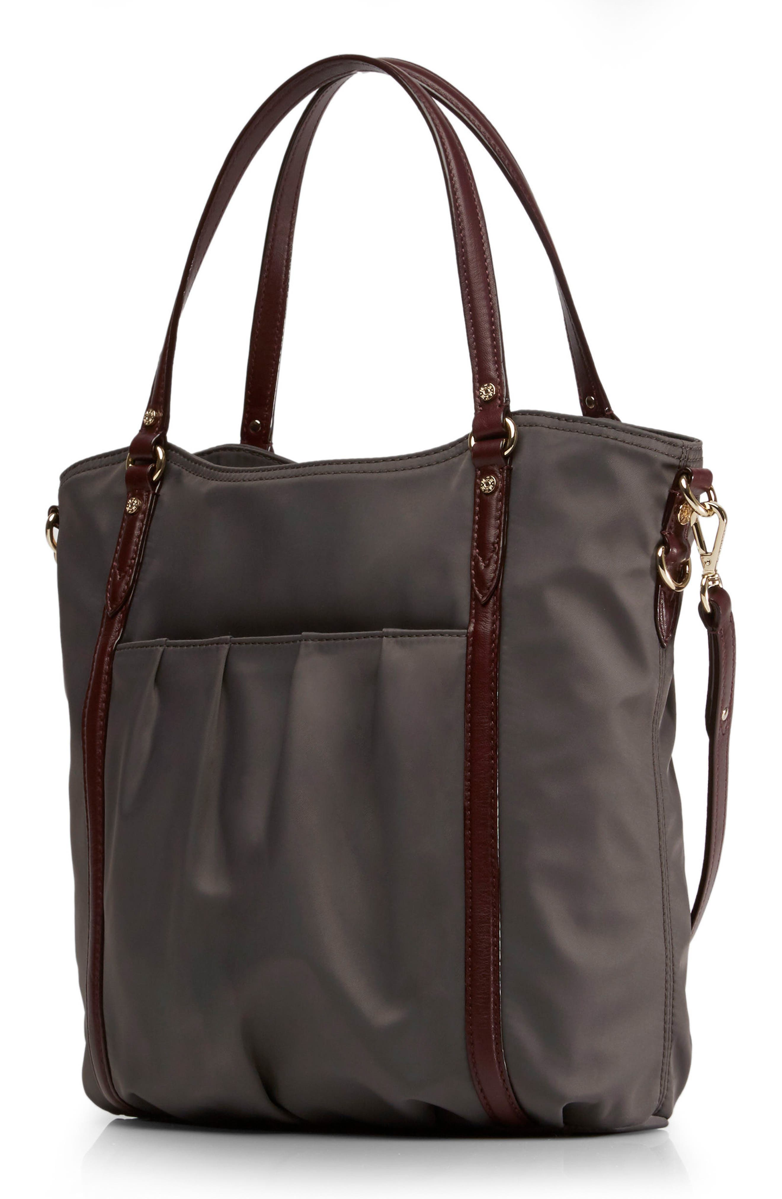 Nikki Nylon Satchel,                             Alternate thumbnail 4, color,                             023