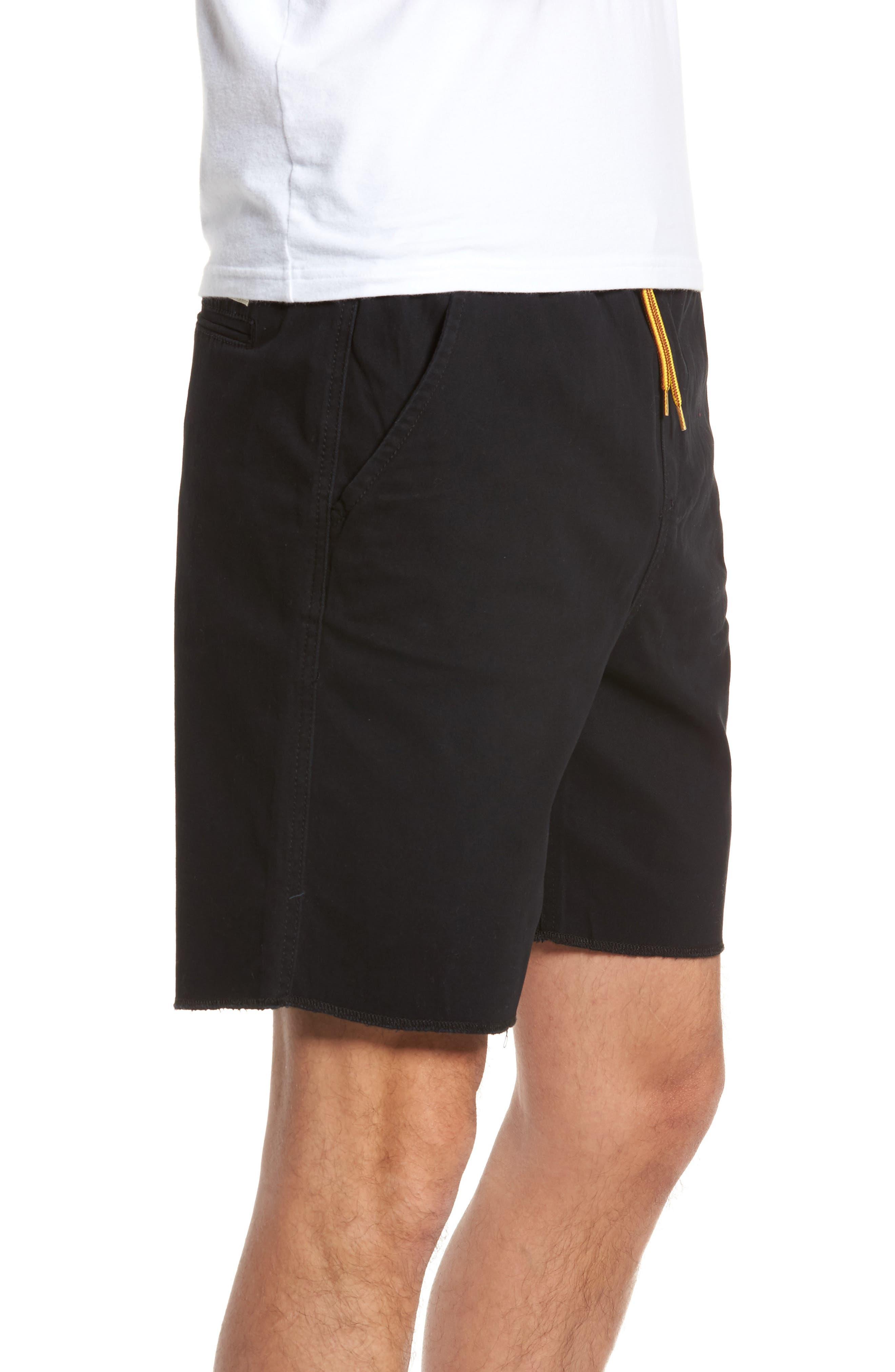 LIRA CLOTHING,                             Weekday Shorts,                             Alternate thumbnail 3, color,                             001