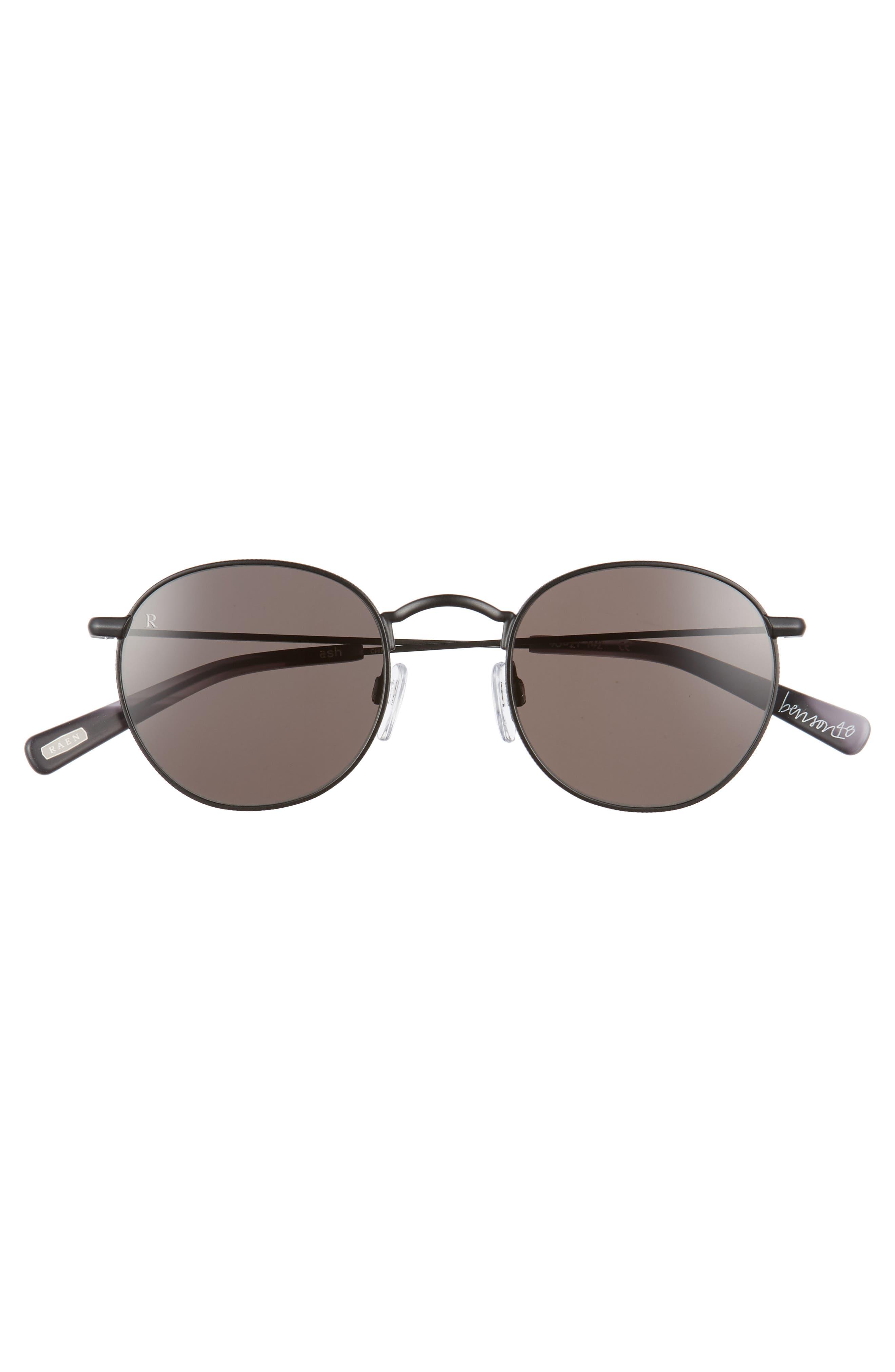 Benson 48mm Sunglasses,                             Alternate thumbnail 2, color,                             ASH