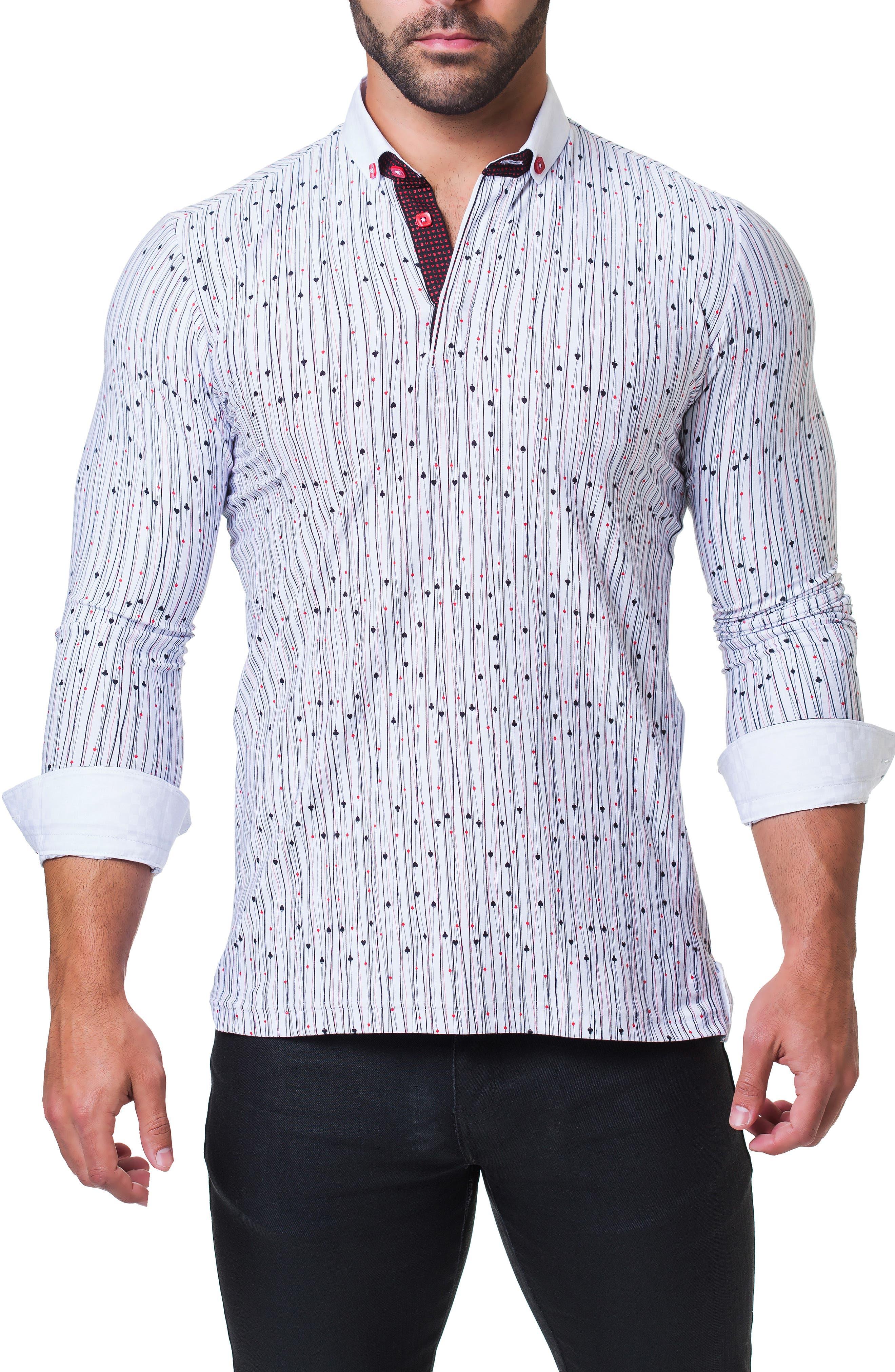 Newton Vegas Long Sleeve Polo,                             Alternate thumbnail 3, color,                             WHITE
