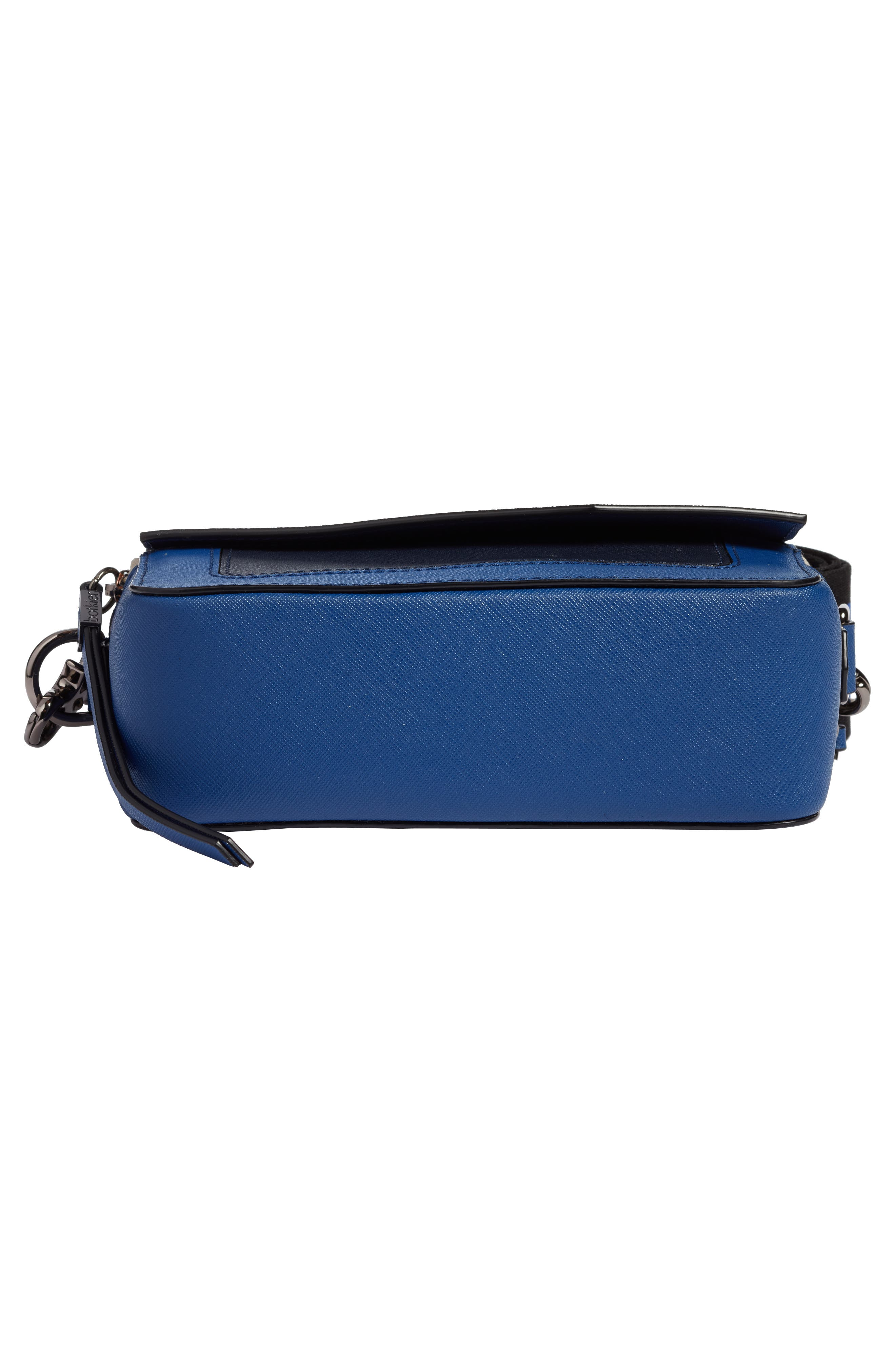 Cobble Hill Mini Crossbody Camera Bag,                             Alternate thumbnail 6, color,                             WINTER BLUE COMBO