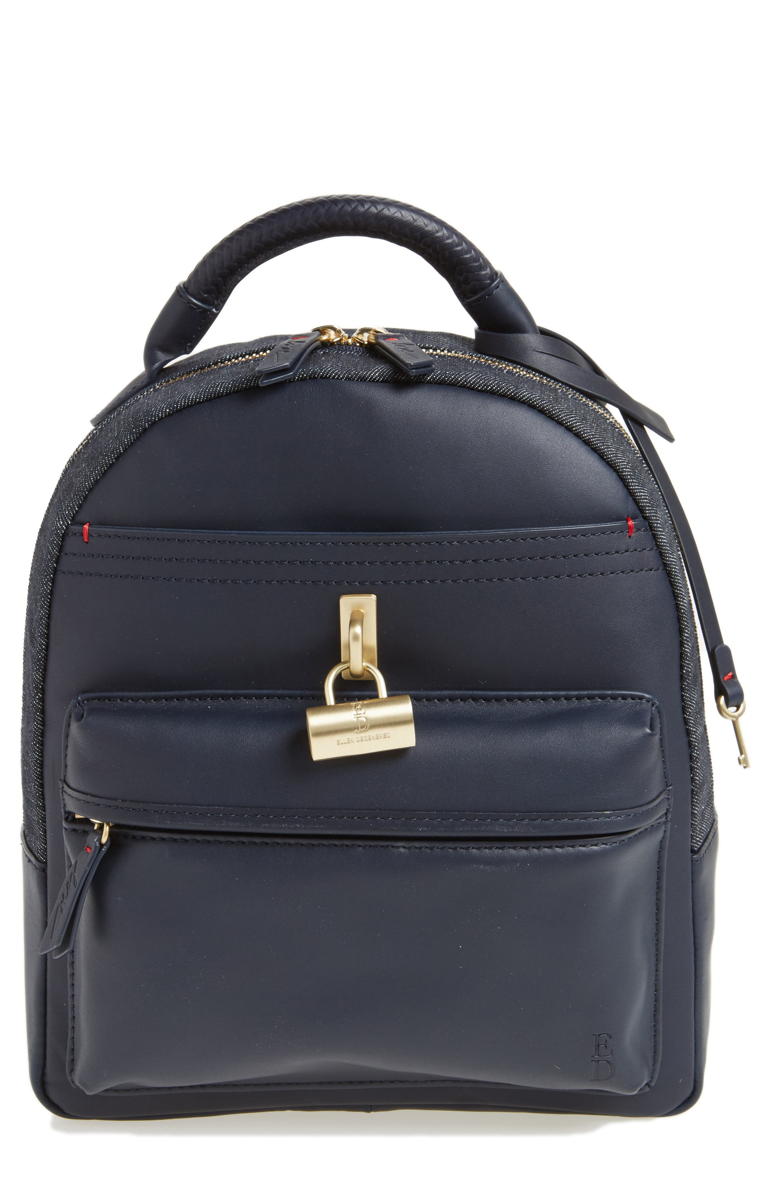 Brody Leather Backpack,                             Main thumbnail 2, color,