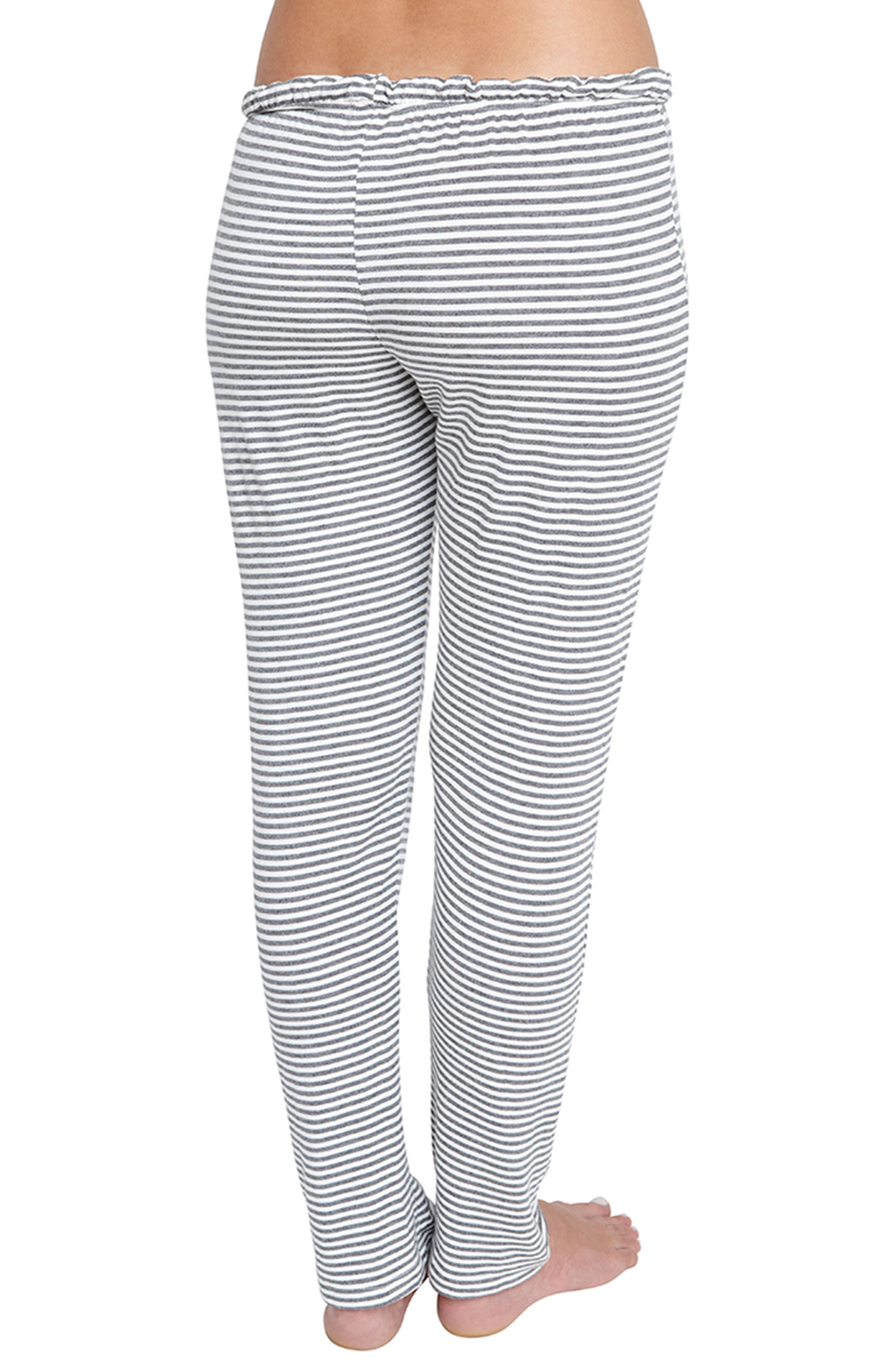 Sadie Stripes Pajama Pants,                             Alternate thumbnail 2, color,                             030