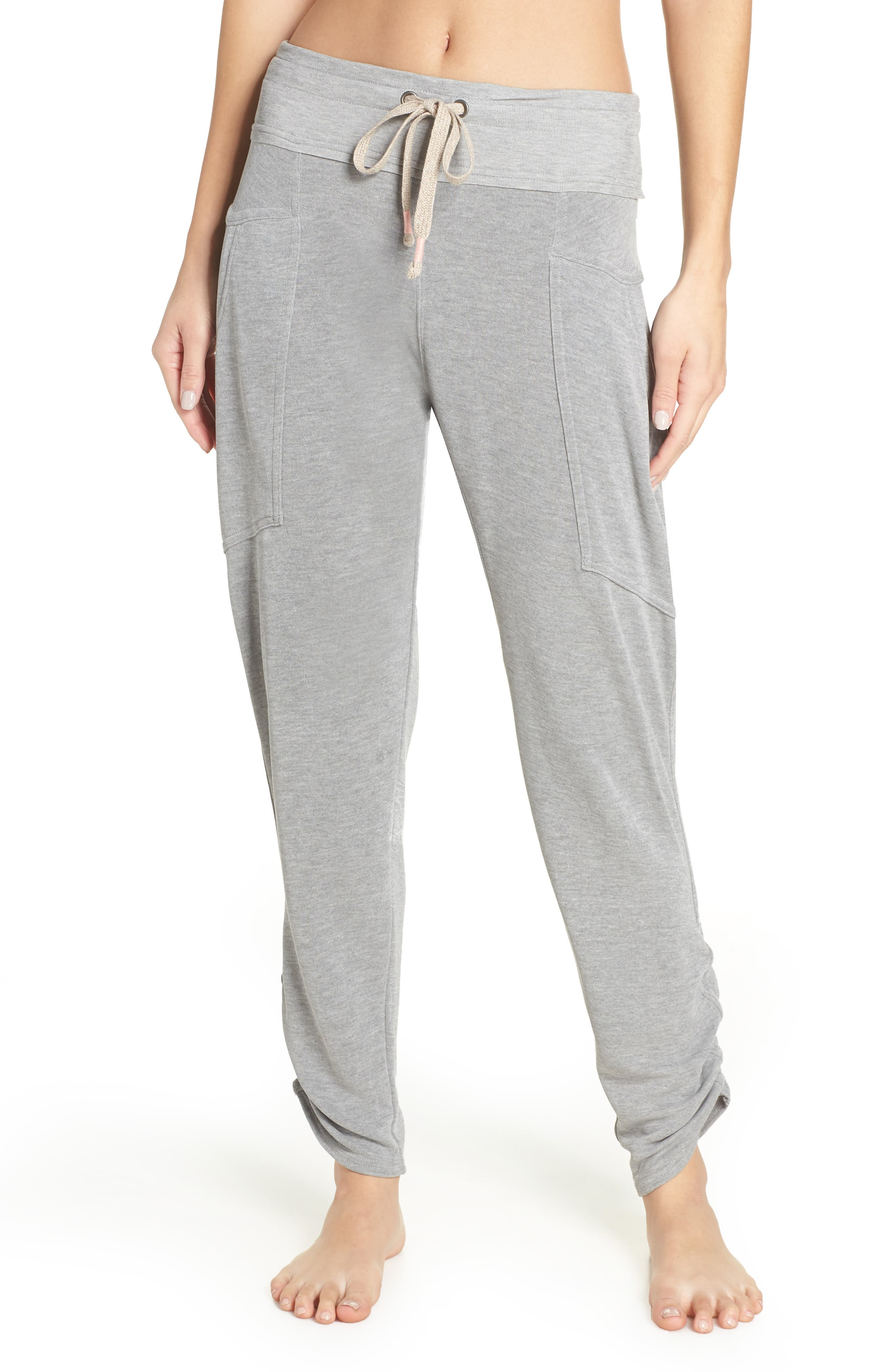 Free People FP Movement Ready Go Jogger Pants,                         Main,                         color, GREY COMBO