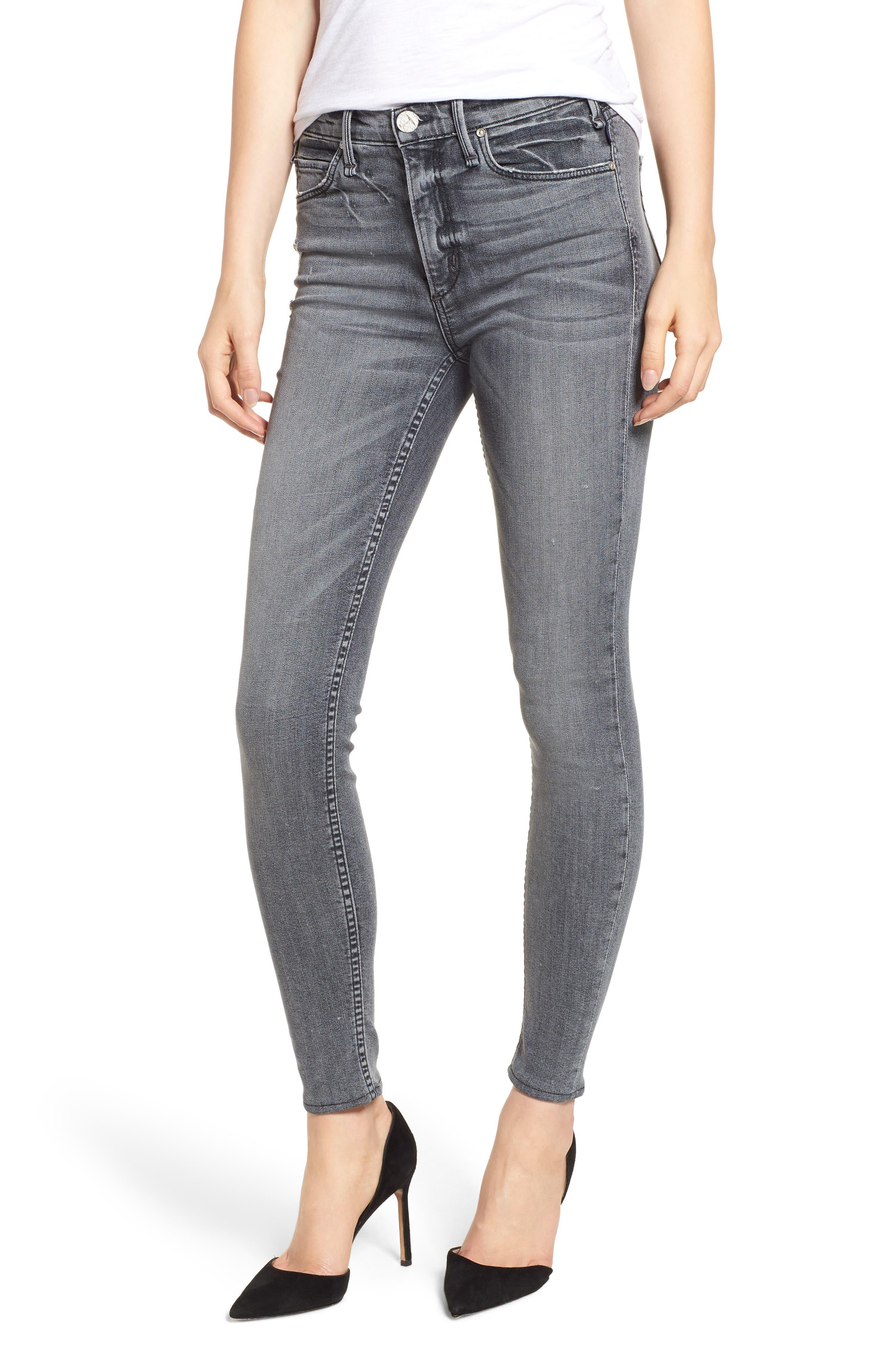 Newton High Waist Skinny Jeans,                             Main thumbnail 1, color,                             021