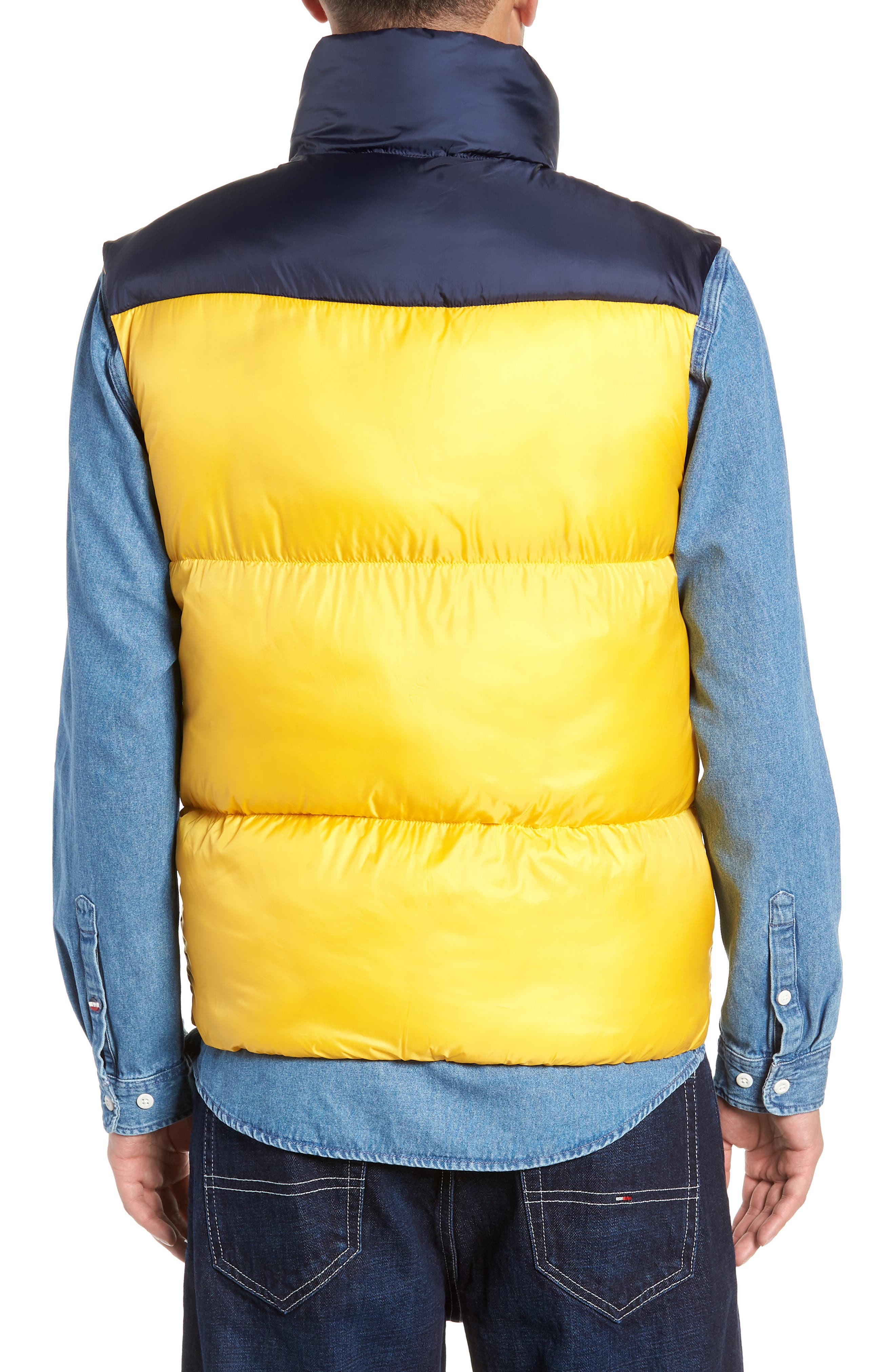 TJM Tommy Classics Vest,                             Alternate thumbnail 2, color,                             SPECTRA YELLOW / BLACK IRIS