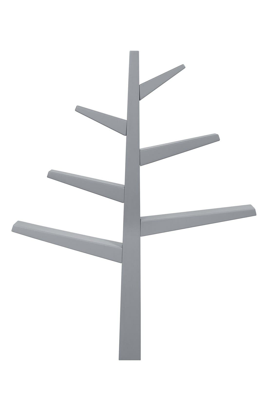 'Spruce Tree' Bookcase,                             Main thumbnail 1, color,                             GREY/ MINT