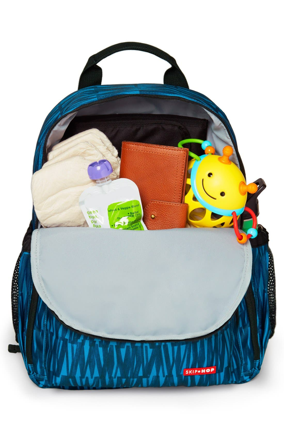 'Duo Signature' Diaper Backpack,                             Alternate thumbnail 20, color,