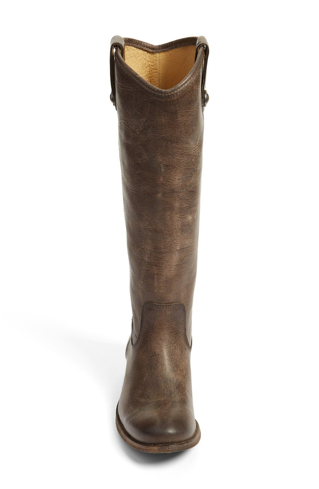 'Melissa Button' Leather Riding Boot,                             Alternate thumbnail 136, color,