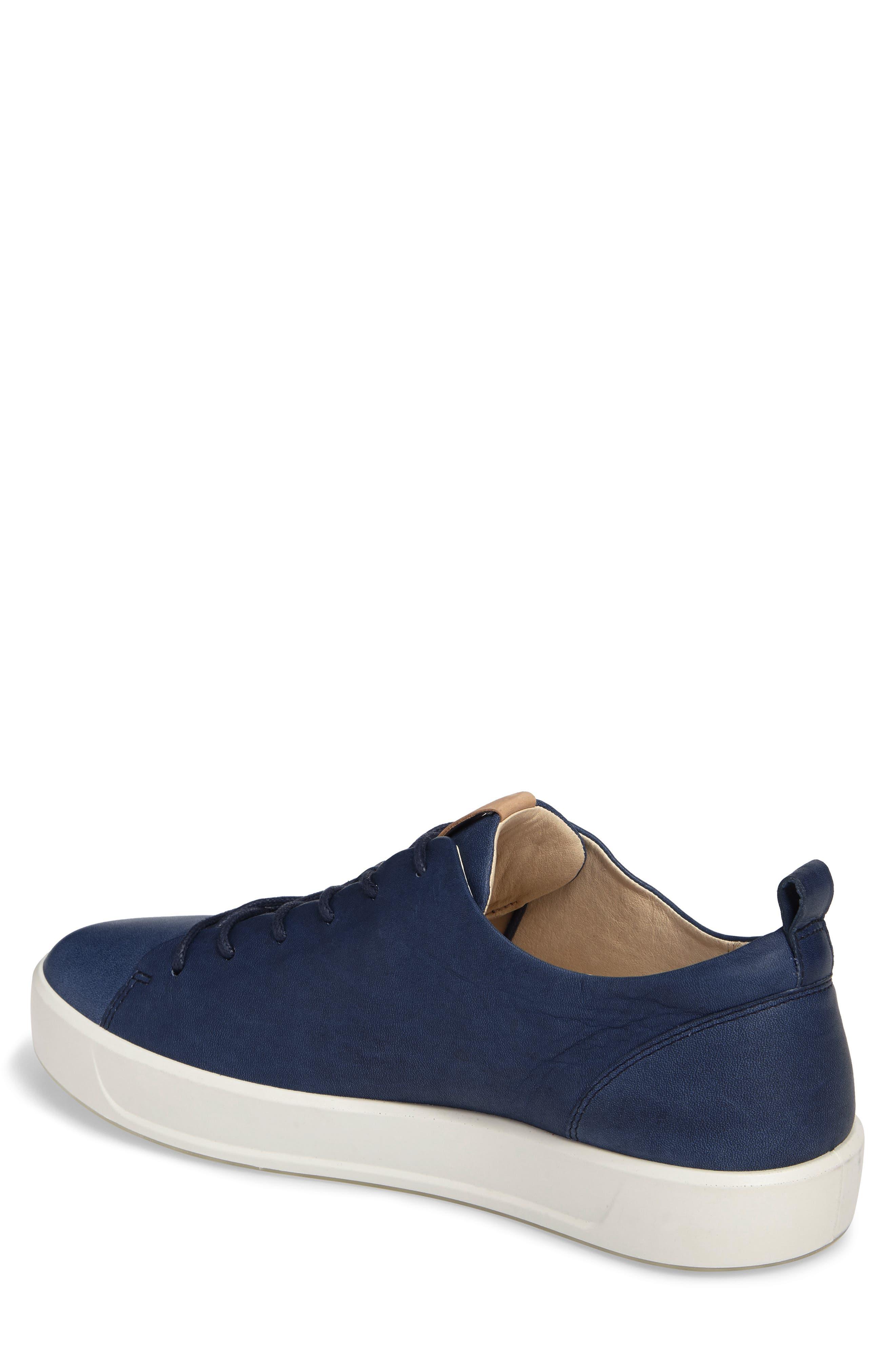 Soft 8 Sneaker,                             Alternate thumbnail 2, color,                             INDIGO 7 LEATHER