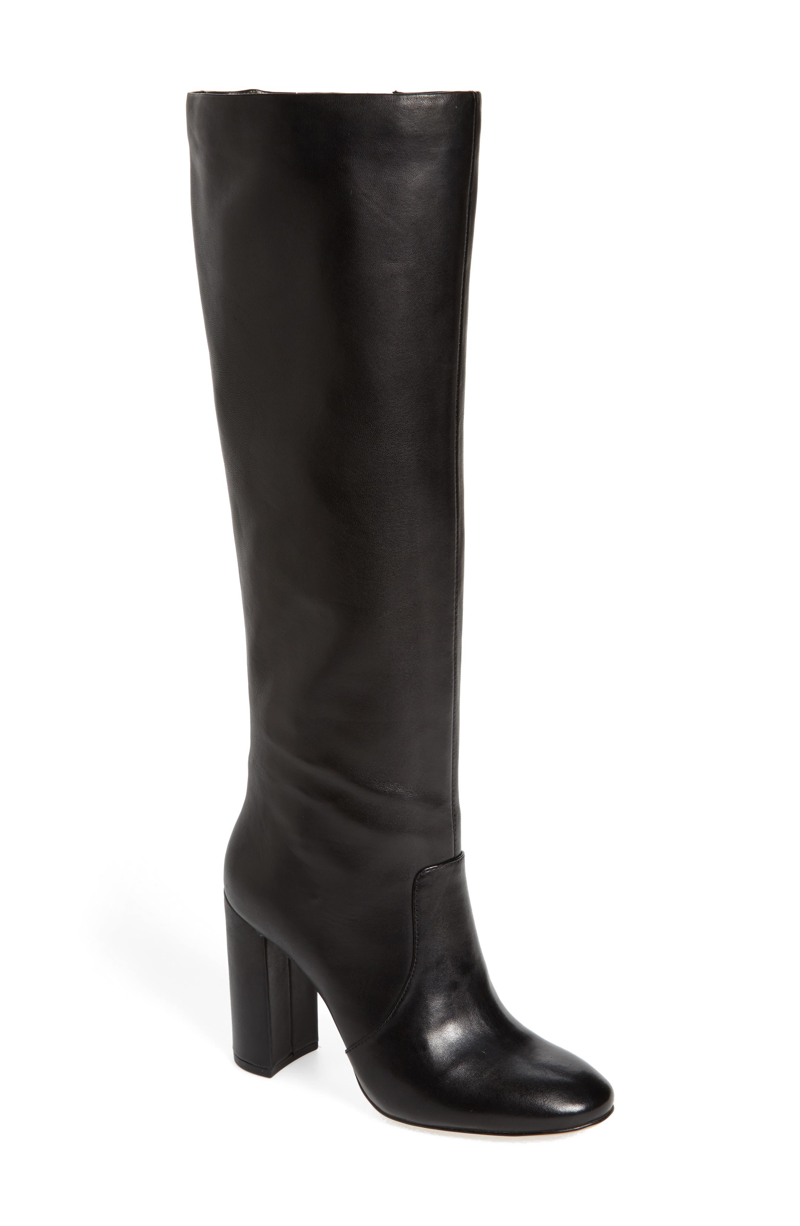 Roslin Knee High Boot,                         Main,                         color, 001
