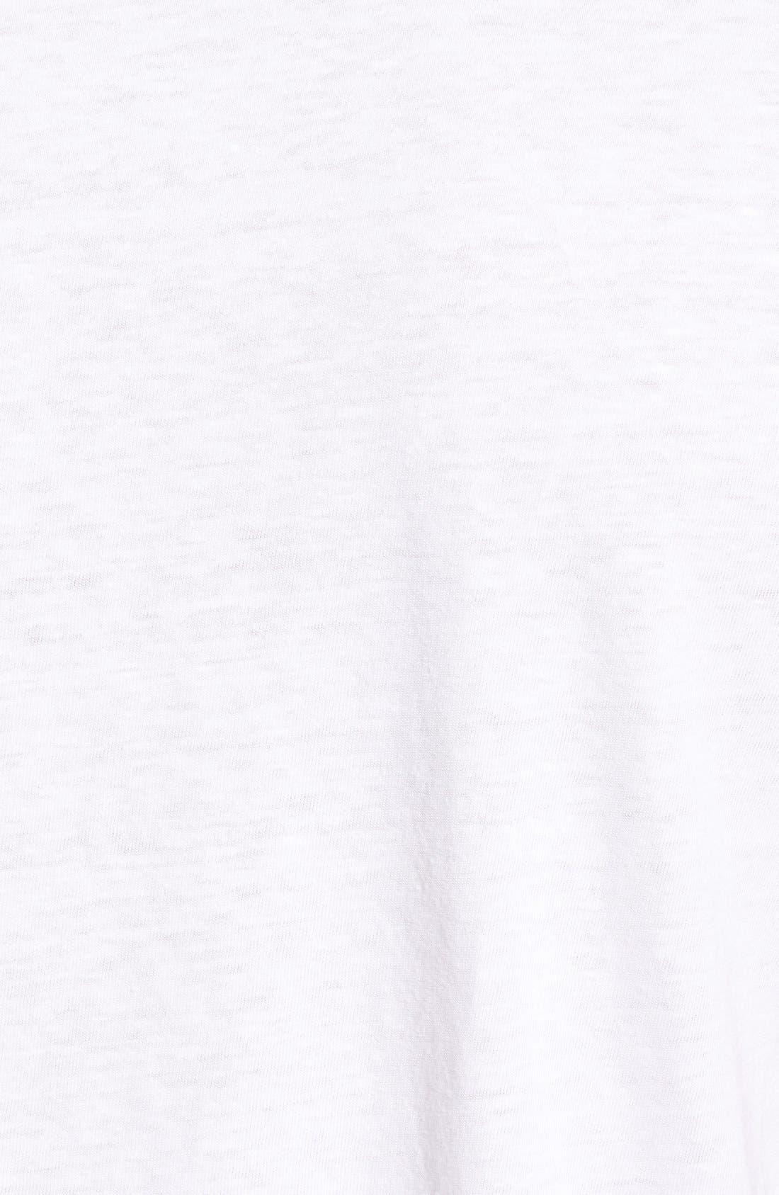 Scallop Triblend Crewneck T-Shirt,                             Alternate thumbnail 86, color,