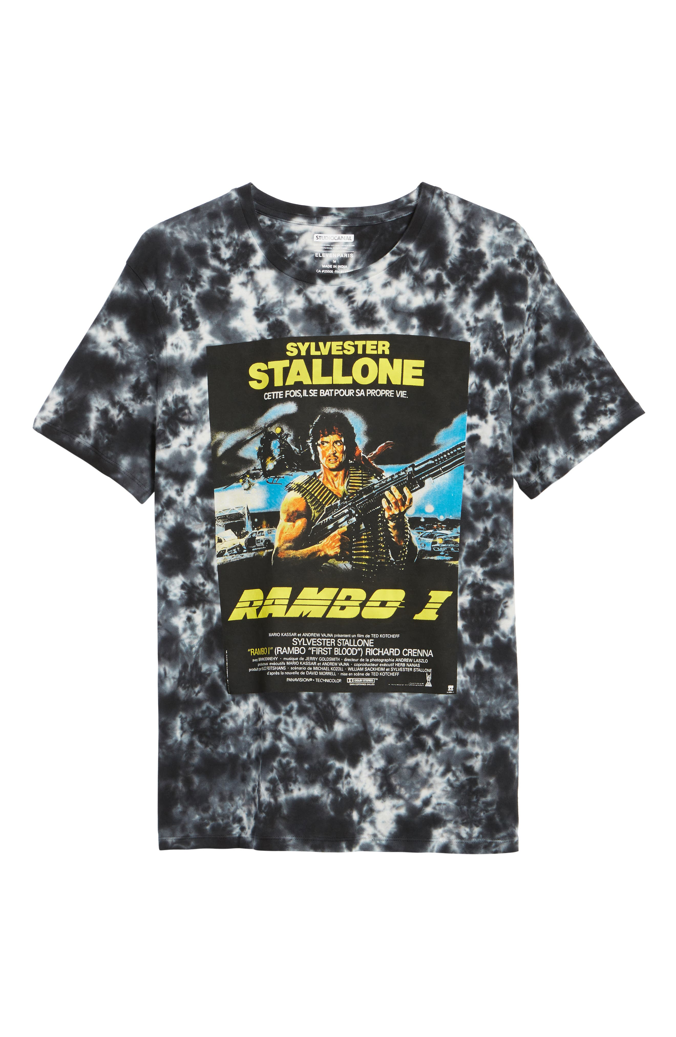 Rambo T-Shirt,                             Alternate thumbnail 6, color,                             009