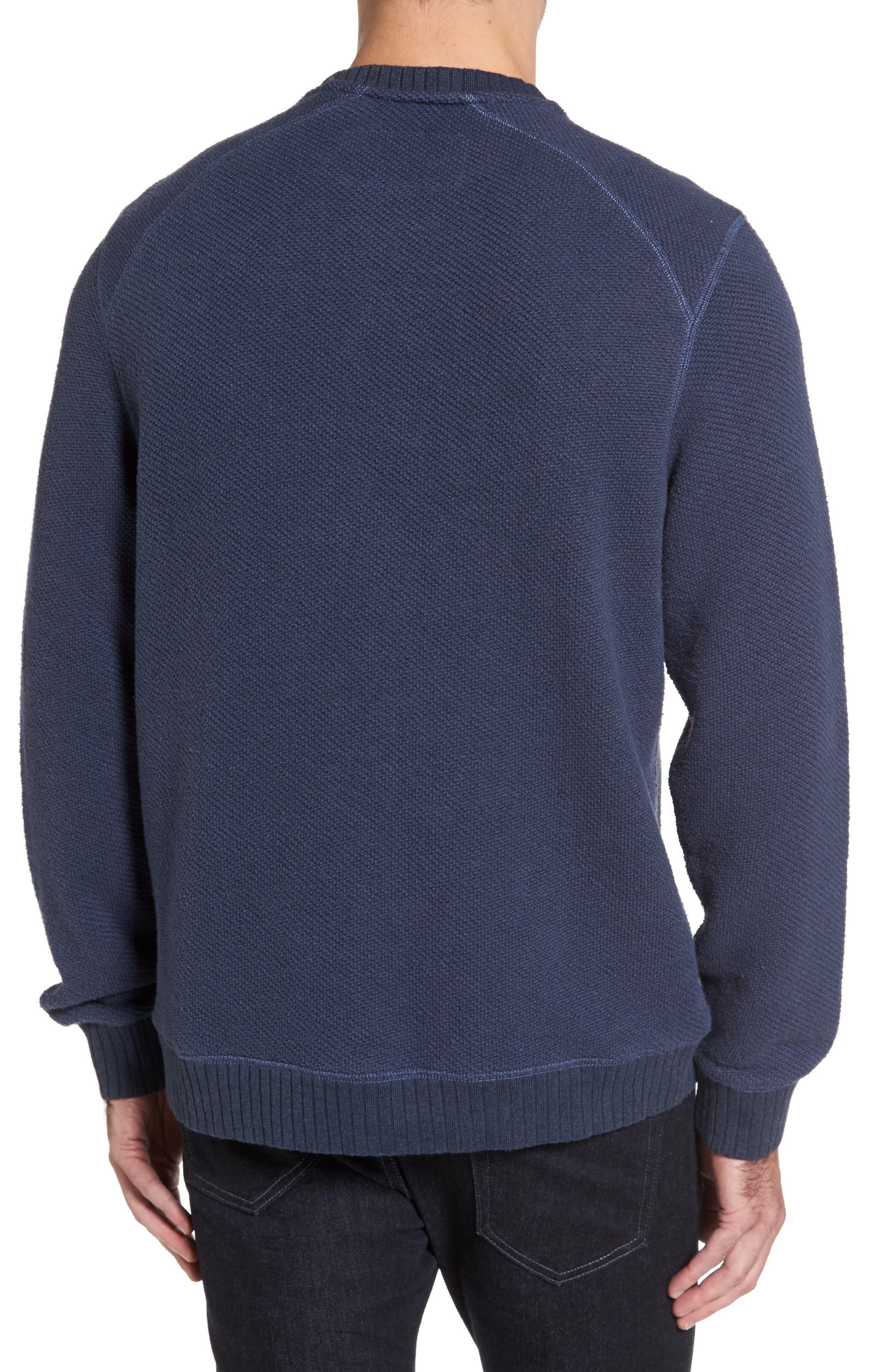 Surfari Crewneck Sweatshirt,                             Alternate thumbnail 2, color,                             001