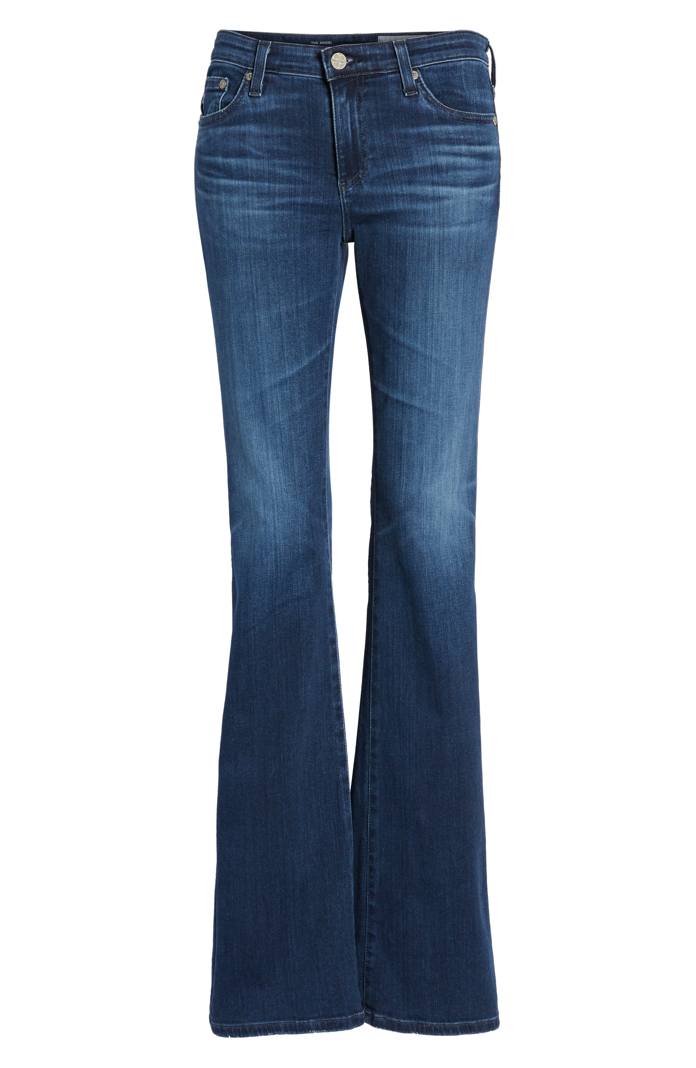 Angel Bootcut Jeans,                             Alternate thumbnail 7, color,                             05 YEAR BLUE ESSENCE