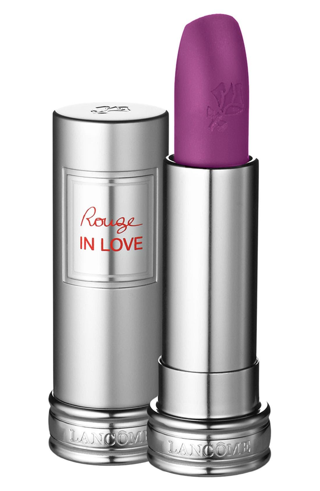 Rouge in Love Lipstick,                         Main,                         color, VIOLETTE COQUETTE