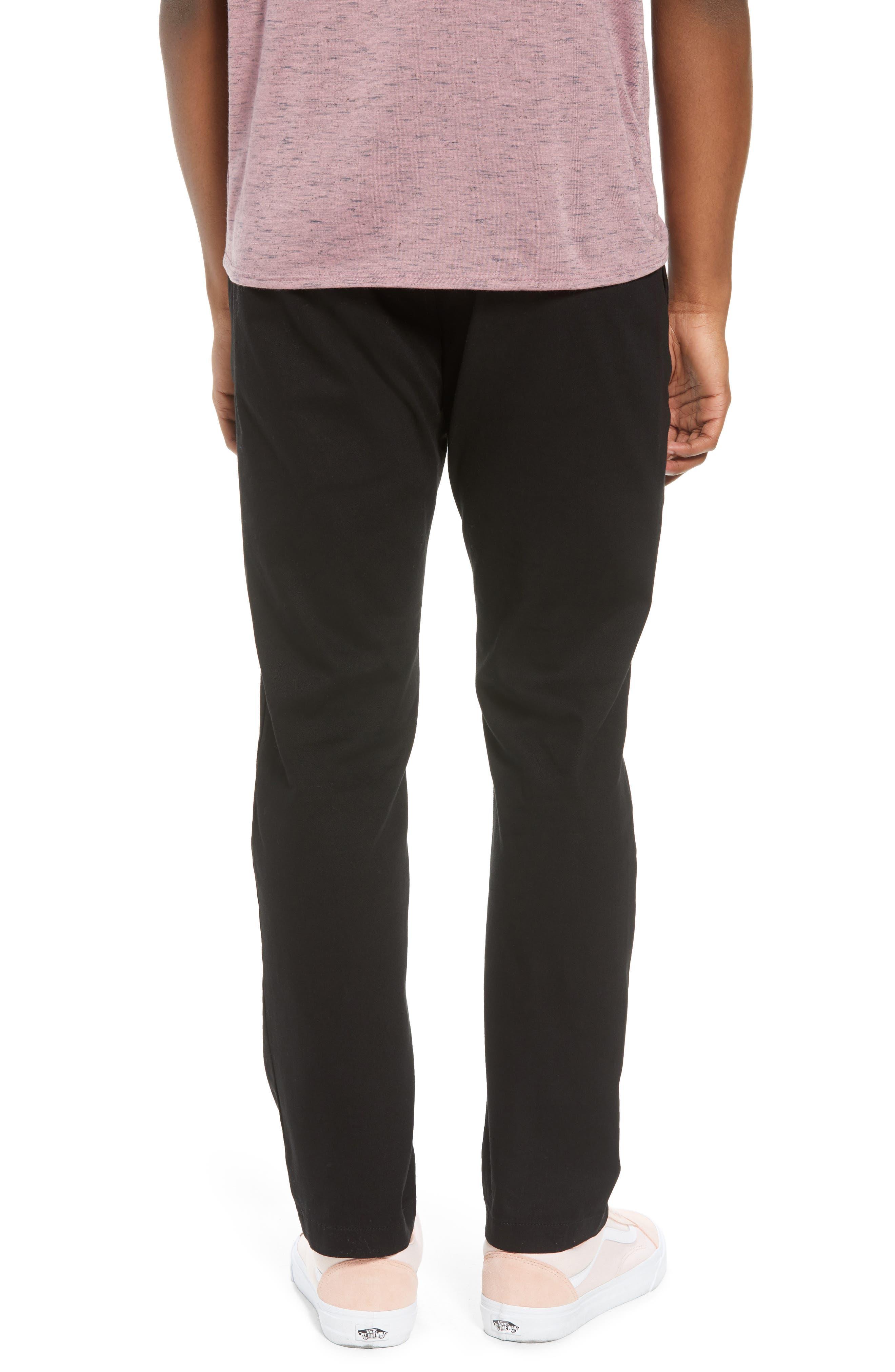 Crossroad Slim Fit Pants,                             Alternate thumbnail 2, color,                             BLACK