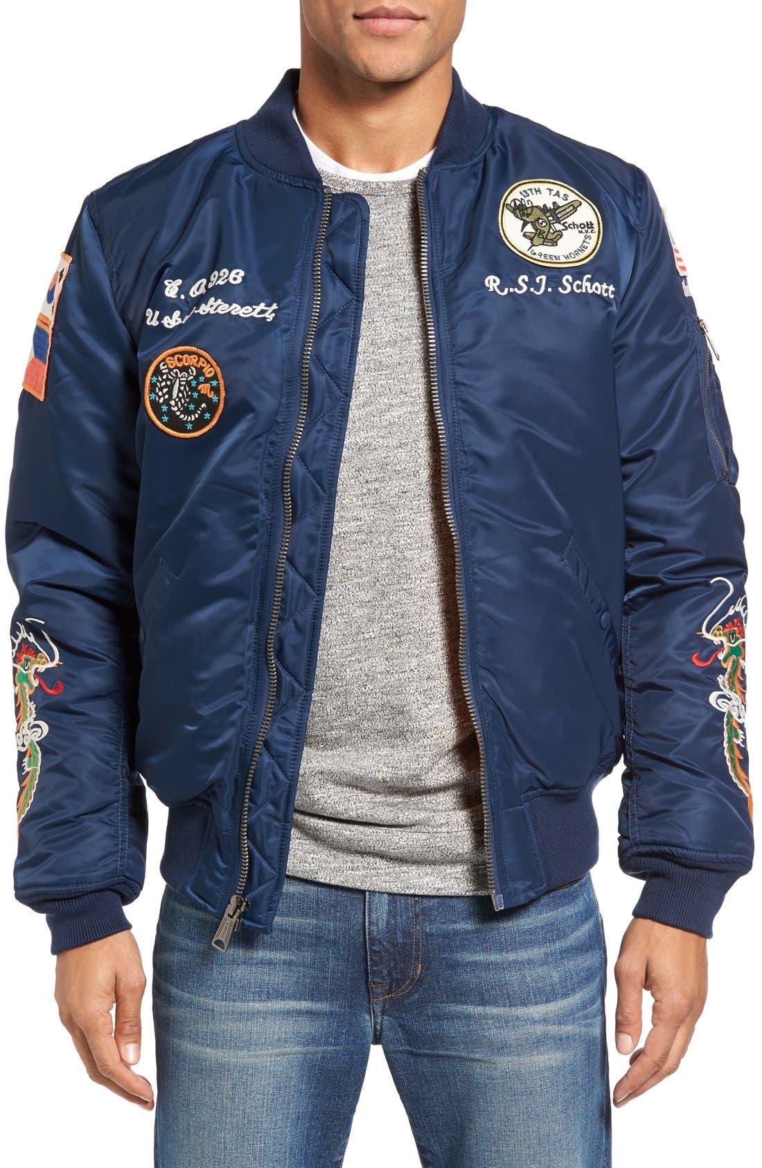 Souvenir MA-1 Flight Jacket,                             Main thumbnail 3, color,