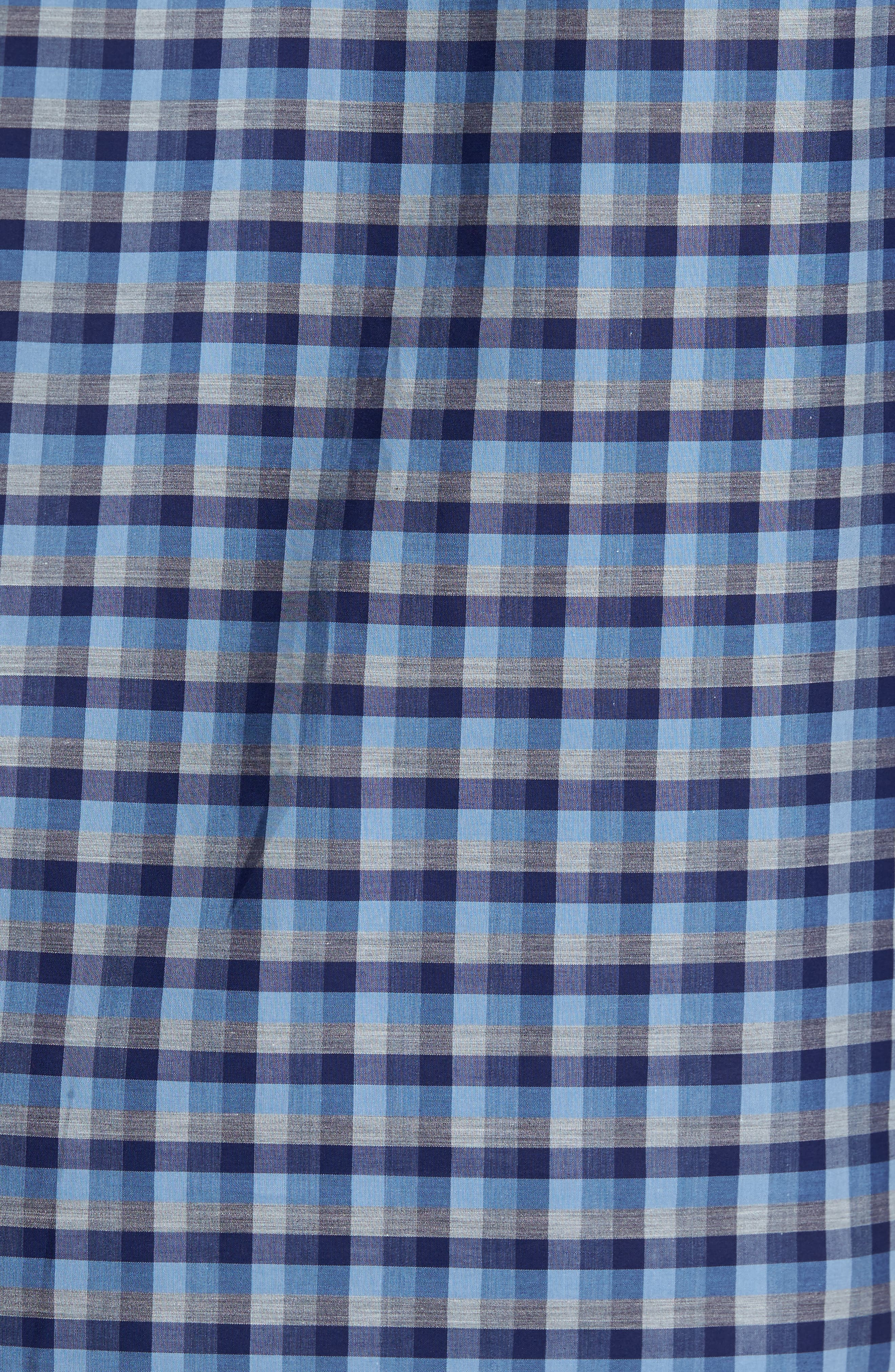 Dane Check Sport Shirt,                             Alternate thumbnail 5, color,                             450