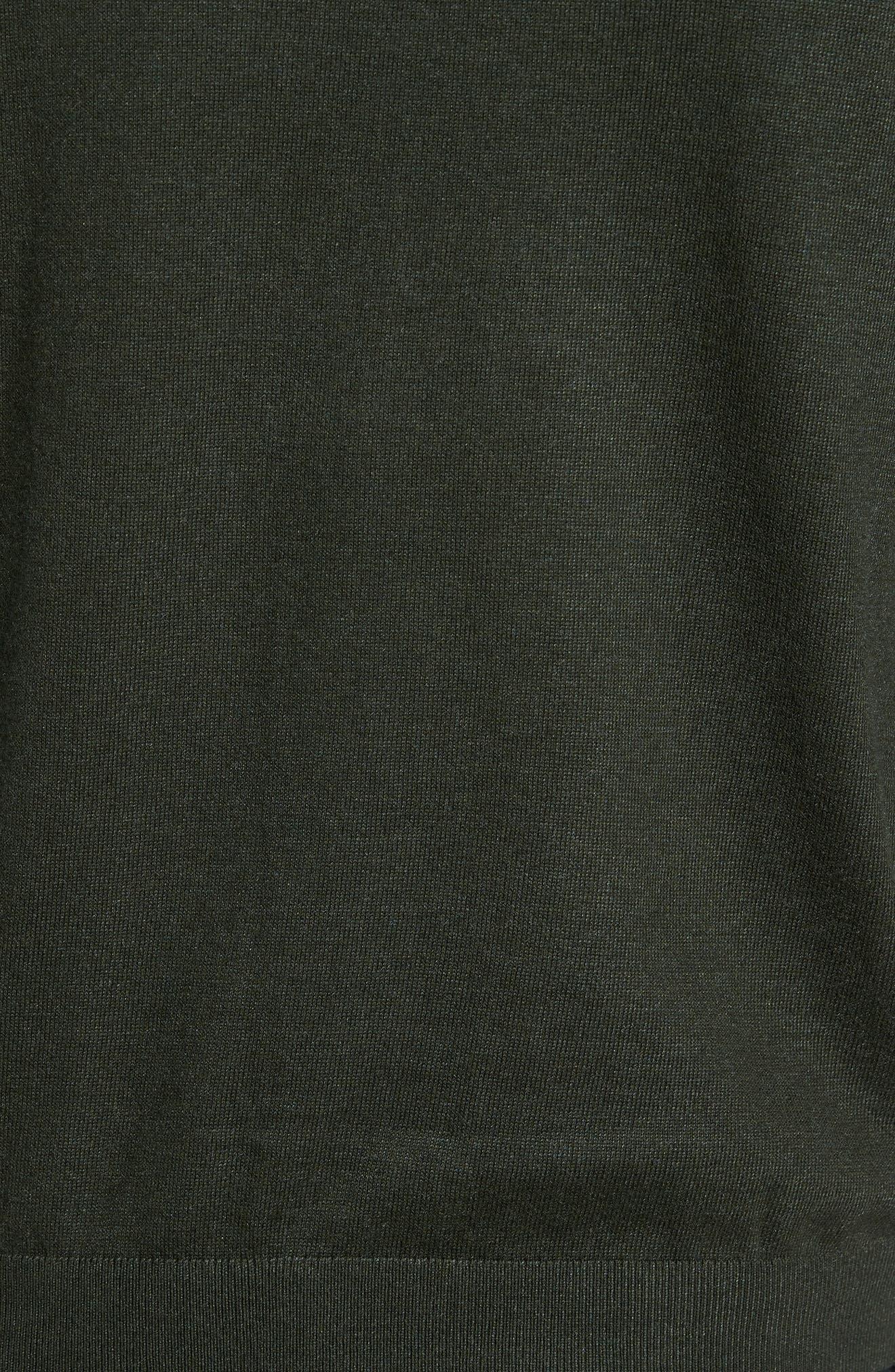 Pepmint Herringbone Sleeve Sweatshirt,                             Alternate thumbnail 10, color,