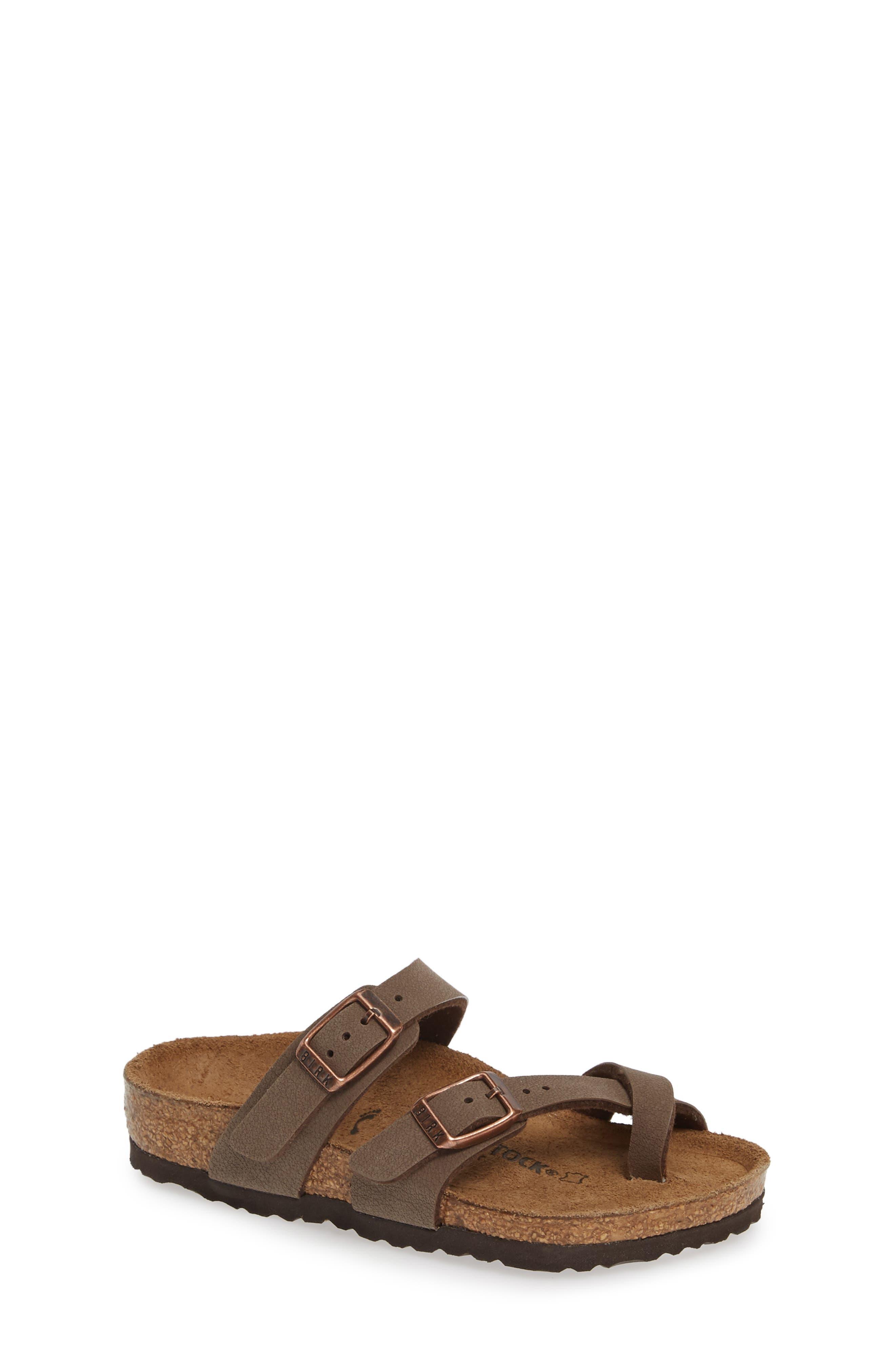 Mayari Birko-Flor<sup>™</sup> Sandal, Main, color, MOCHA