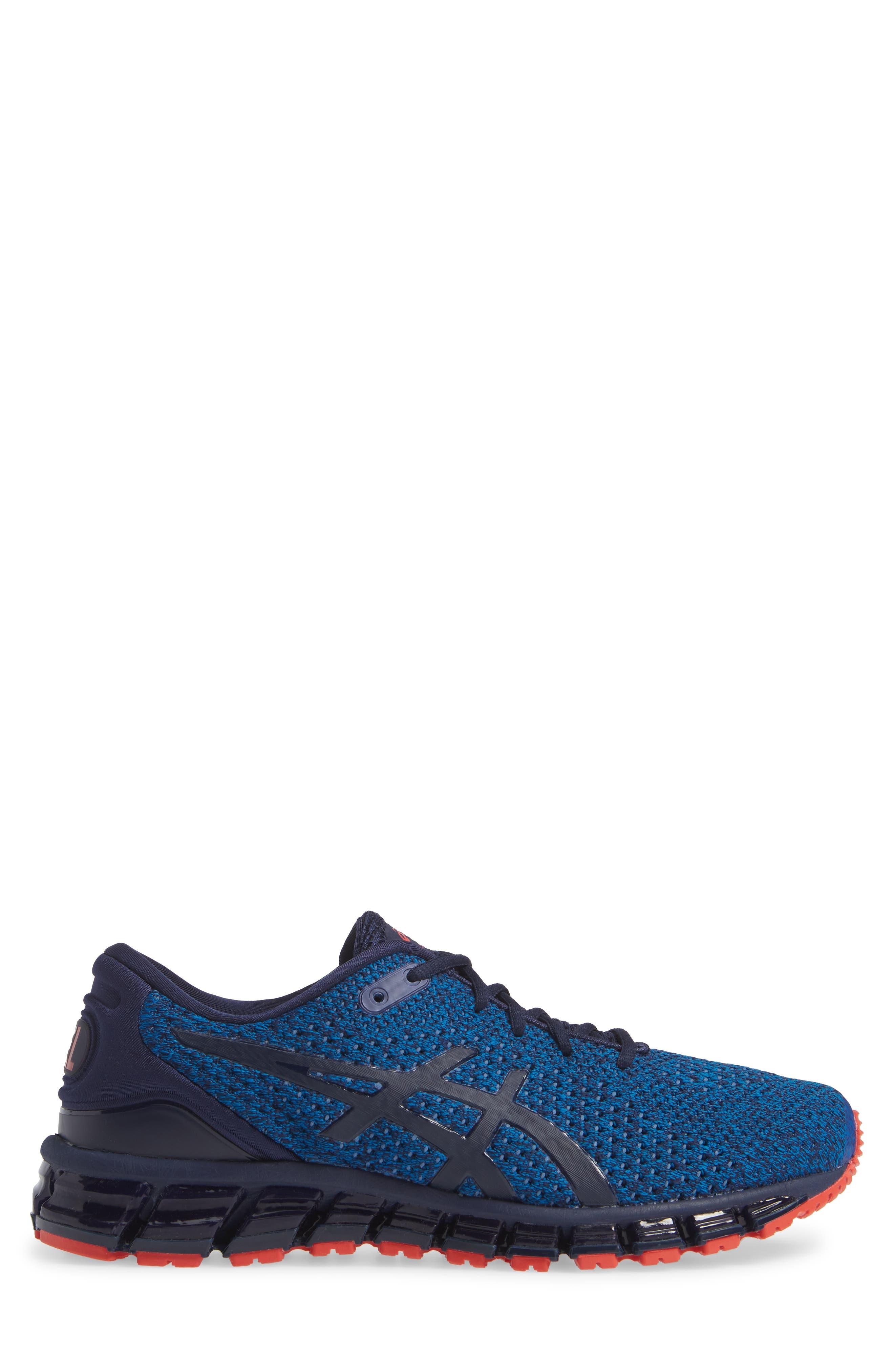 GEL-Quantum 360 Running Shoe,                             Alternate thumbnail 3, color,                             RACE BLUE