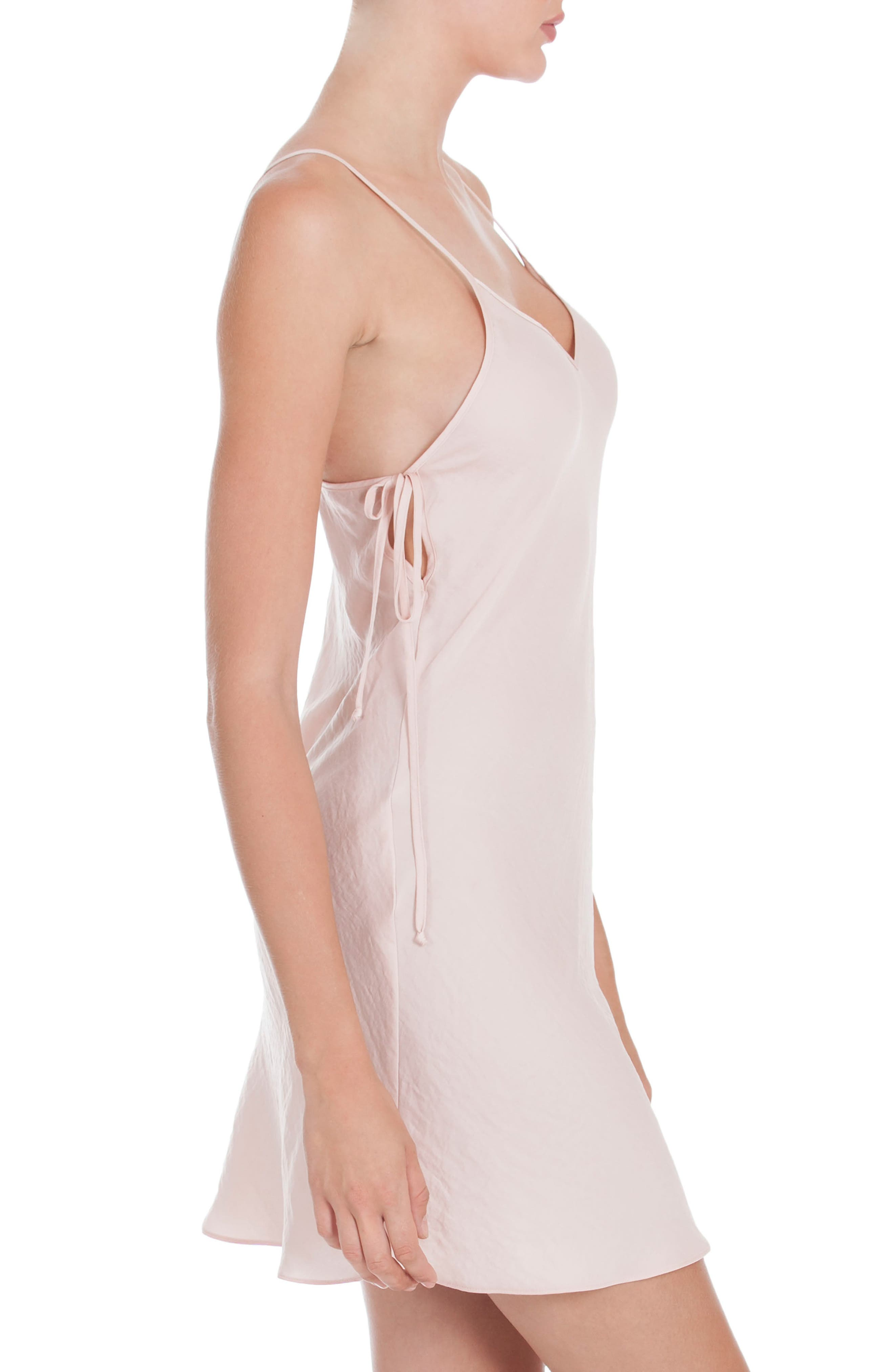 Satin Chemise,                             Alternate thumbnail 3, color,                             650