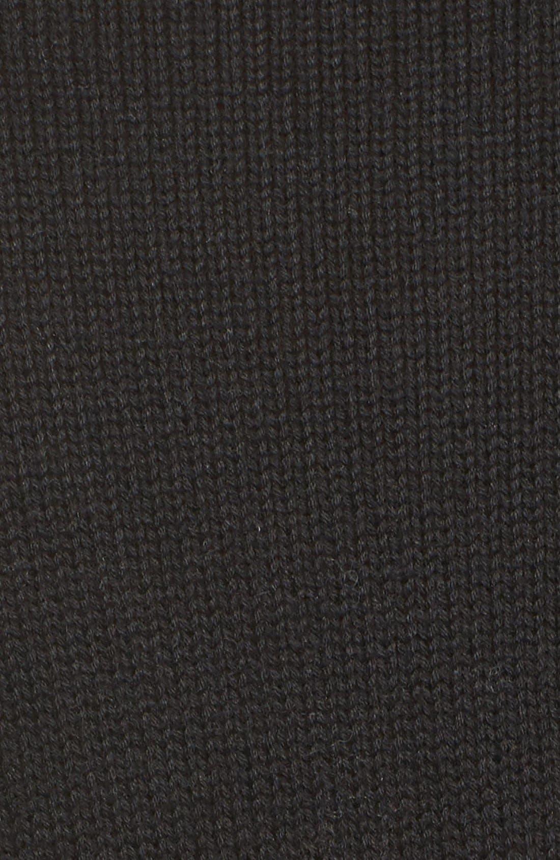'Ballet' Knit Cotton Blend Robe,                             Alternate thumbnail 3, color,