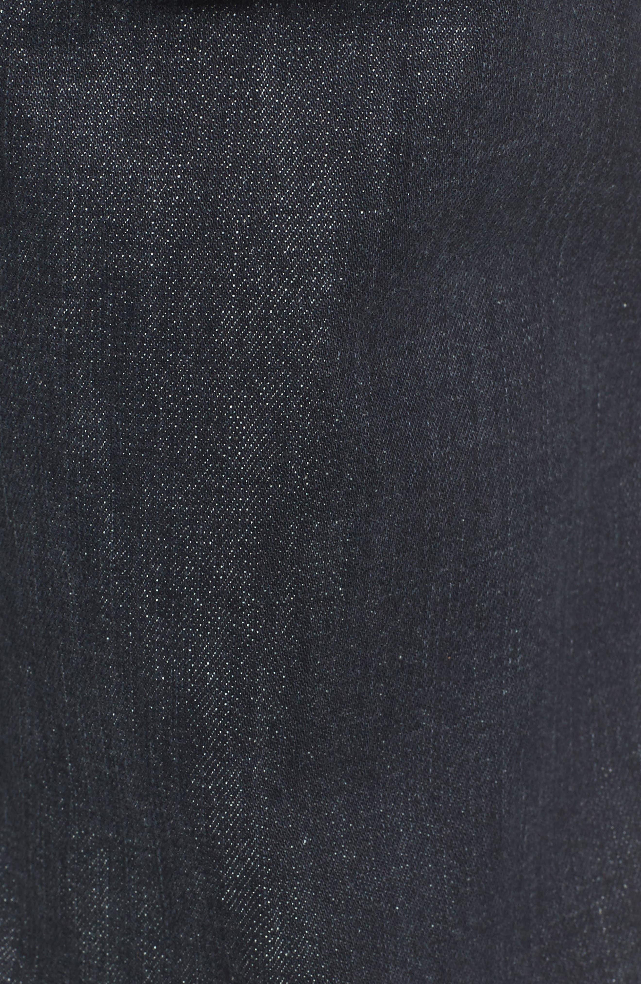 Blinder Skinny Fit Moto Jeans,                             Alternate thumbnail 5, color,                             001