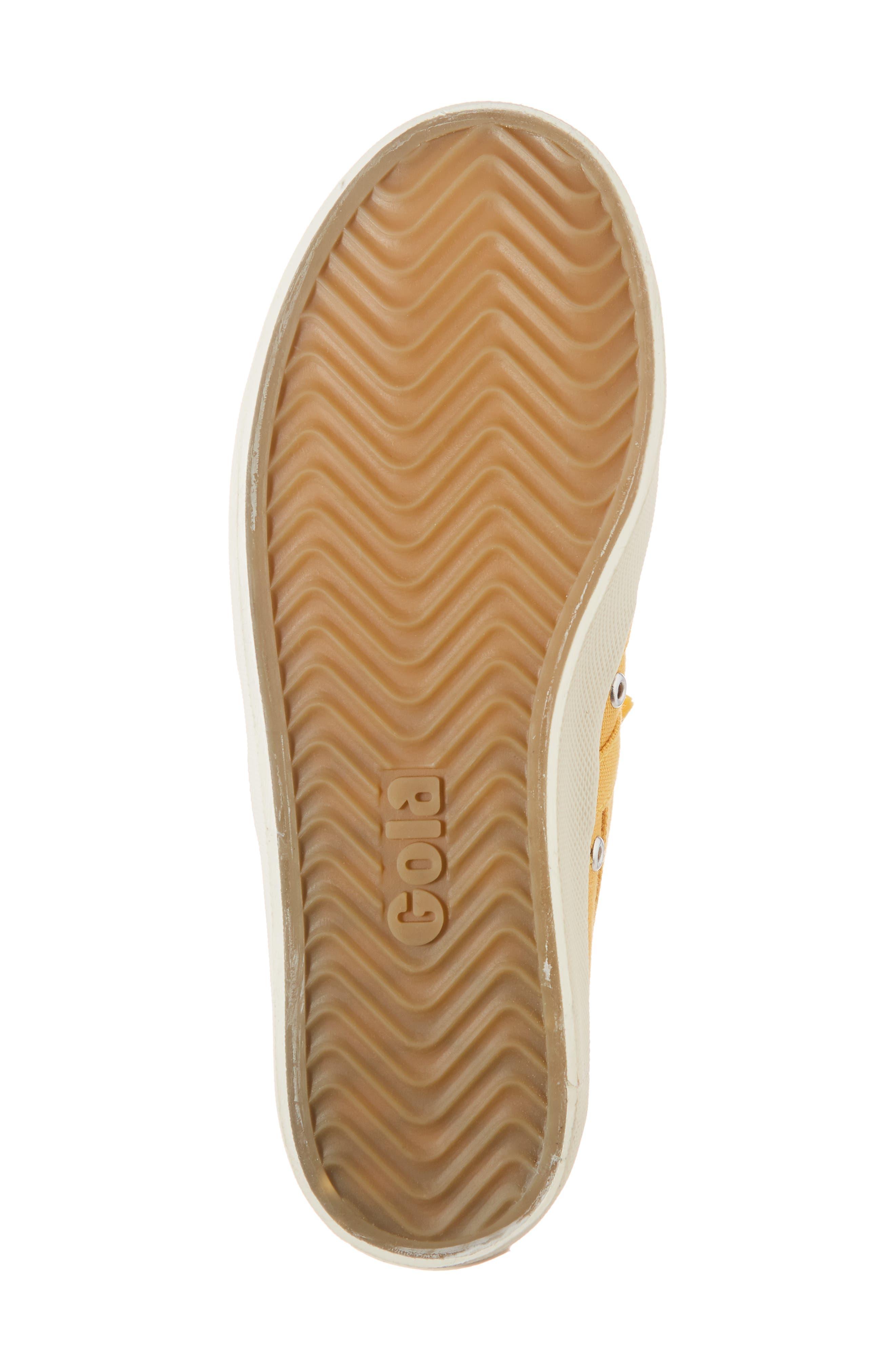 Coaster Sneaker,                             Alternate thumbnail 6, color,                             SUN/ OFF WHITE