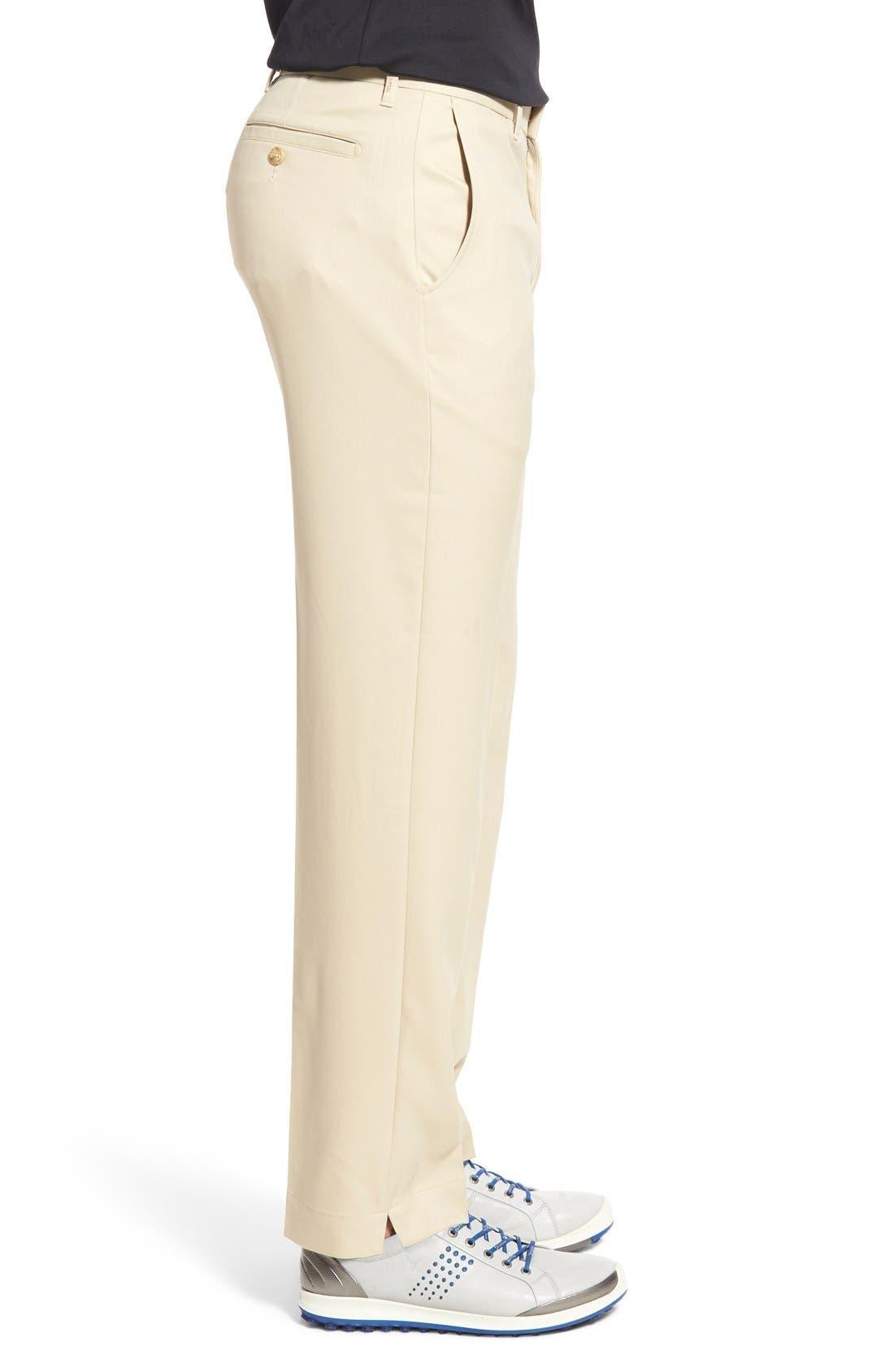 'Tech' Flat Front Wrinkle Free Golf Pants,                             Alternate thumbnail 15, color,