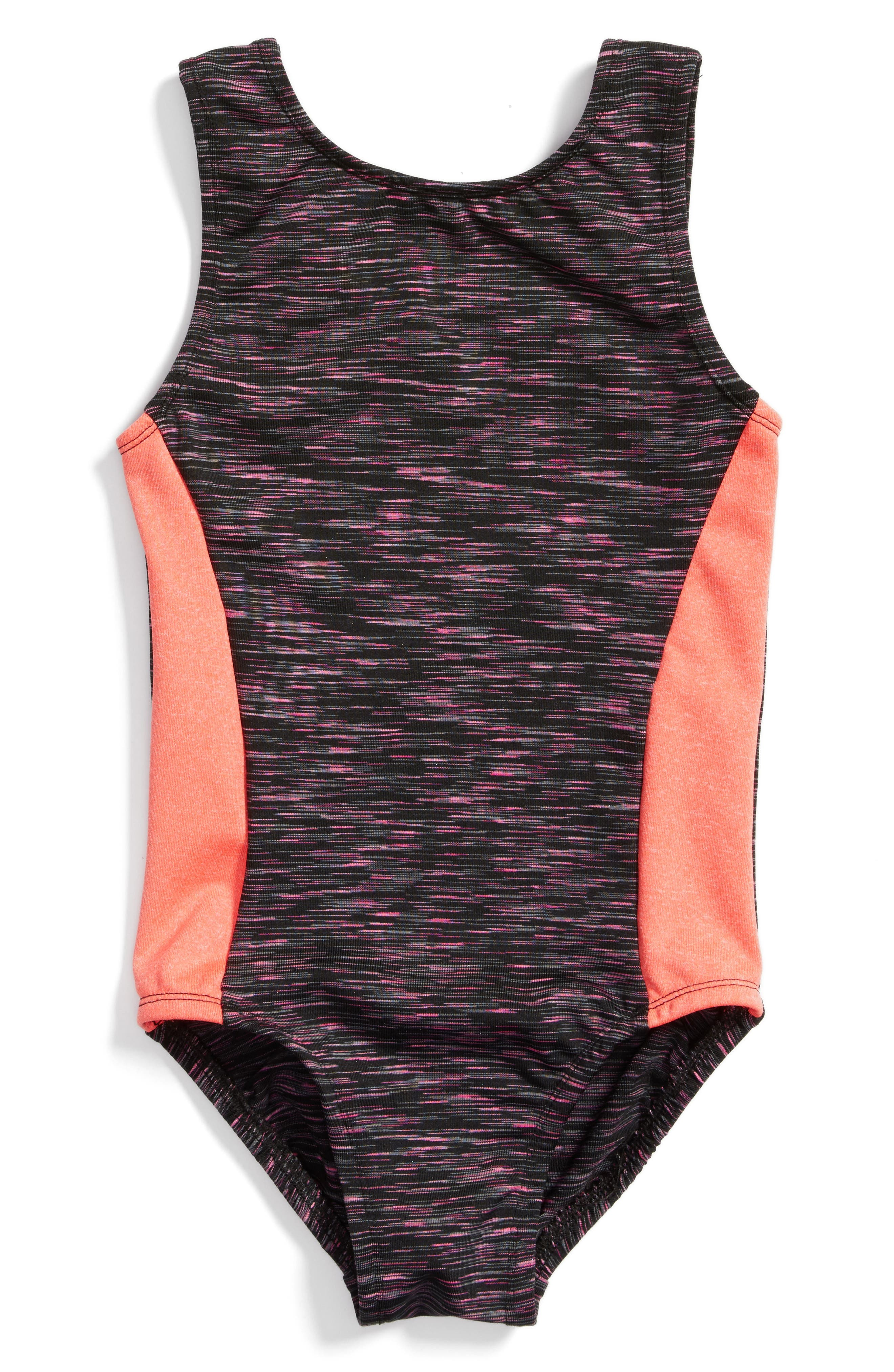 Space Dye Perfect Fit Leotard,                         Main,                         color, 650