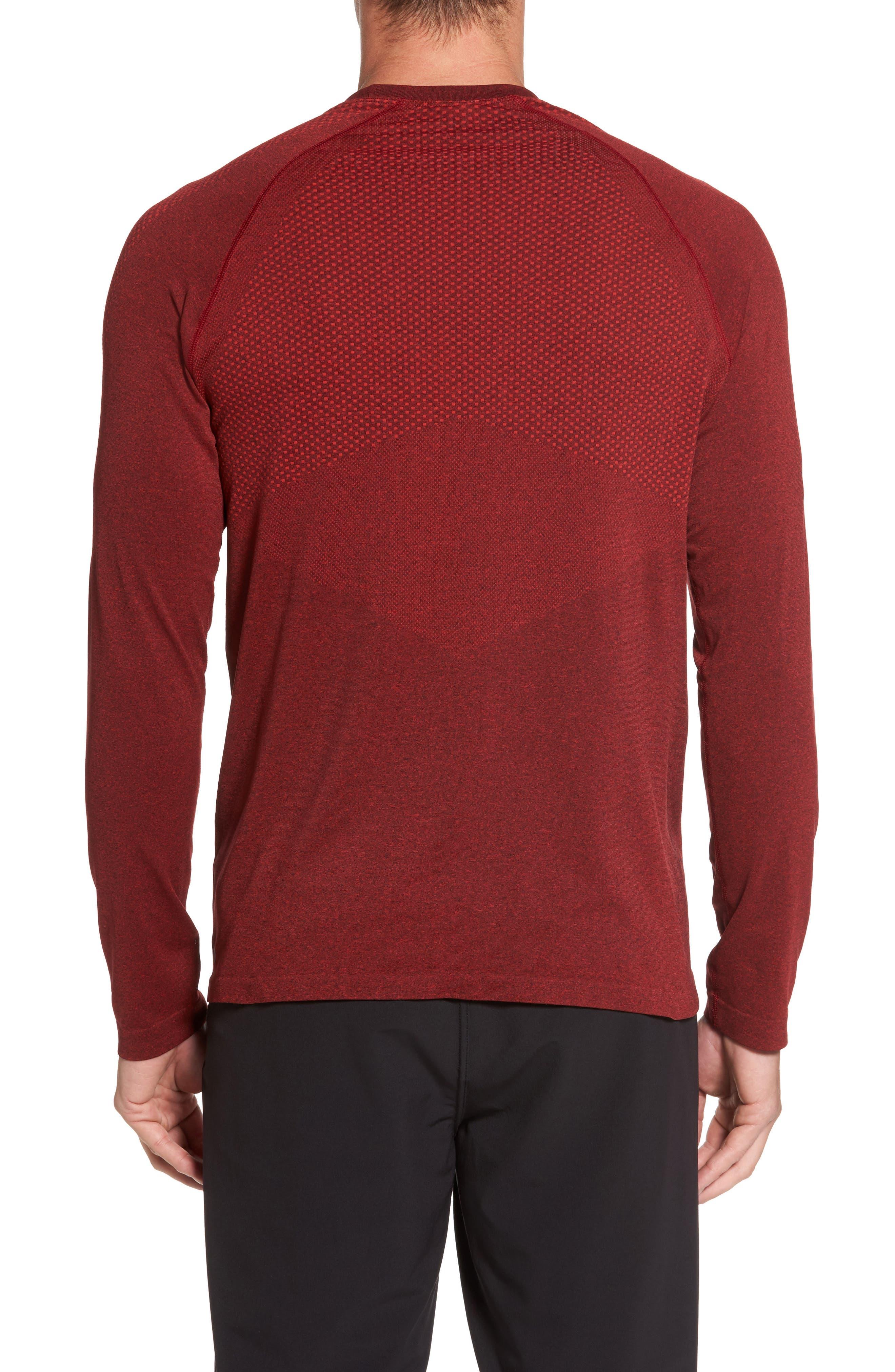 Zeolite Long Sleeve Performance T-Shirt,                             Alternate thumbnail 6, color,