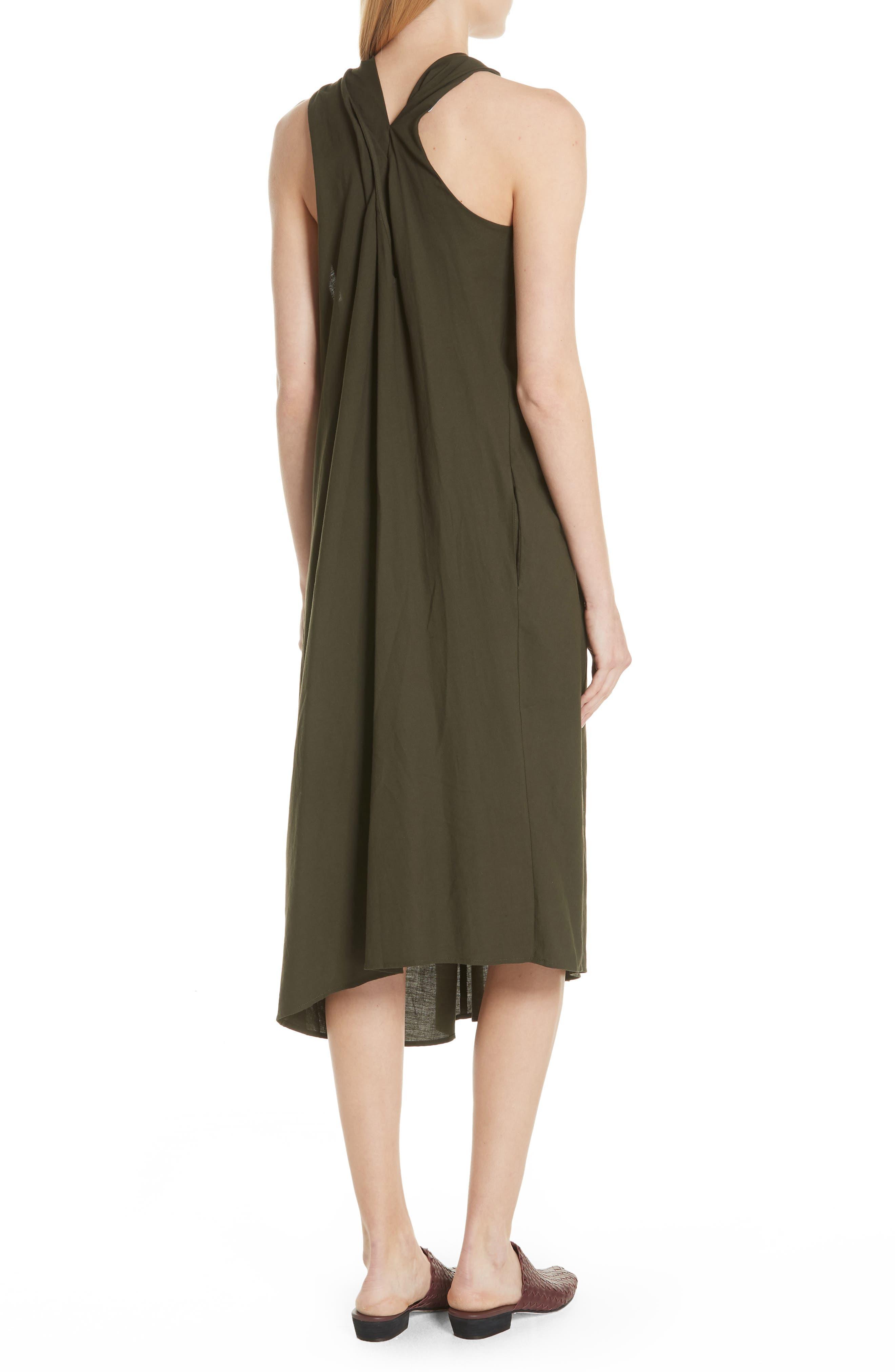 VINCE,                             Twist Front Dress,                             Alternate thumbnail 2, color,                             359