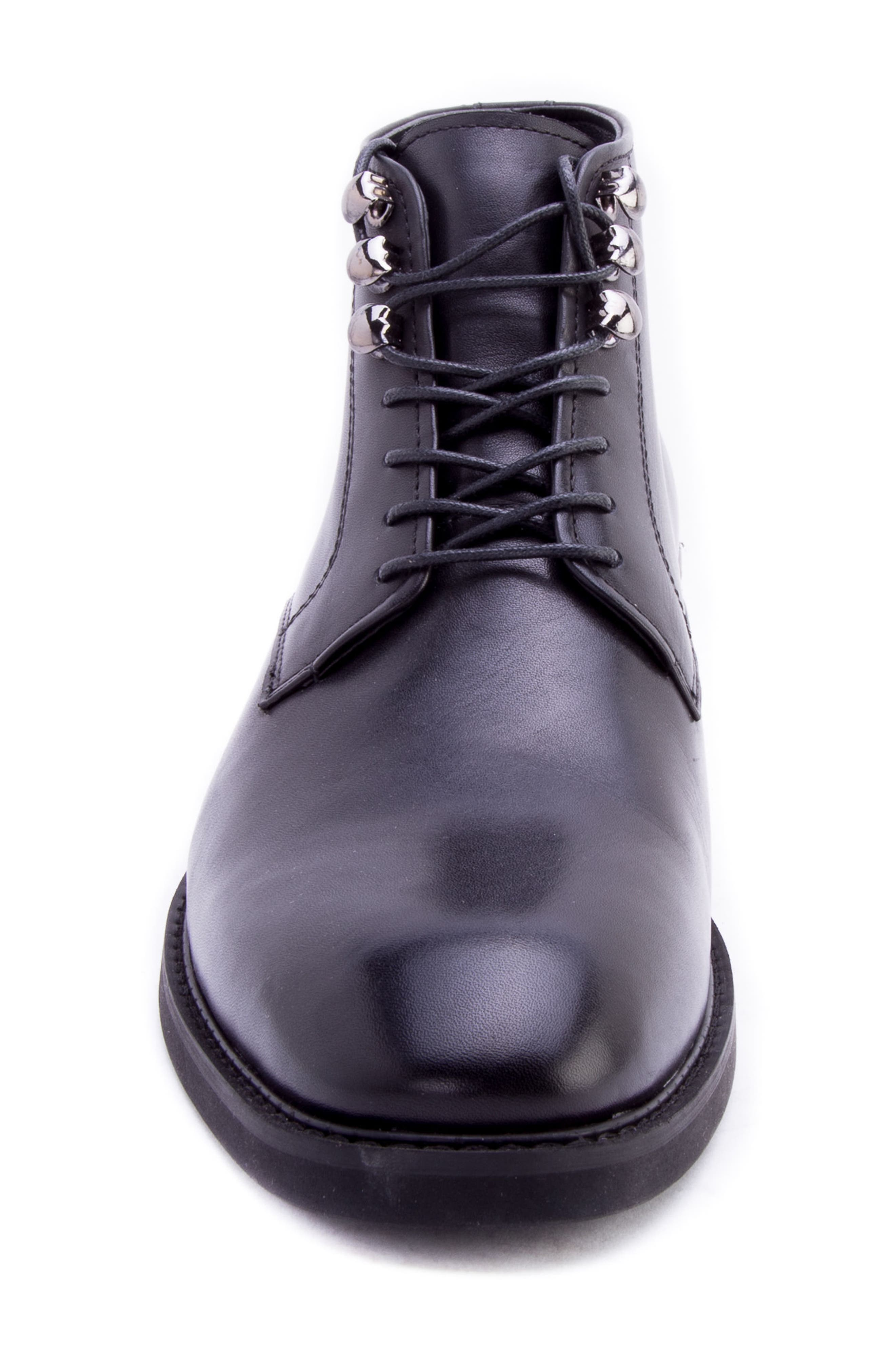 Soland Boot,                             Alternate thumbnail 4, color,                             BLACK LEATHER